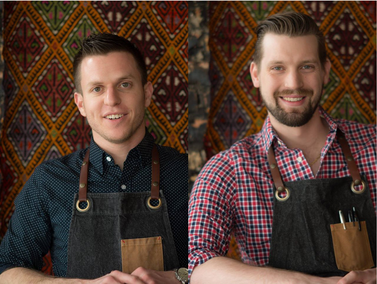 John Vermiglio and chef Josef Giacomino are plotting an unnamed project in Detroit.