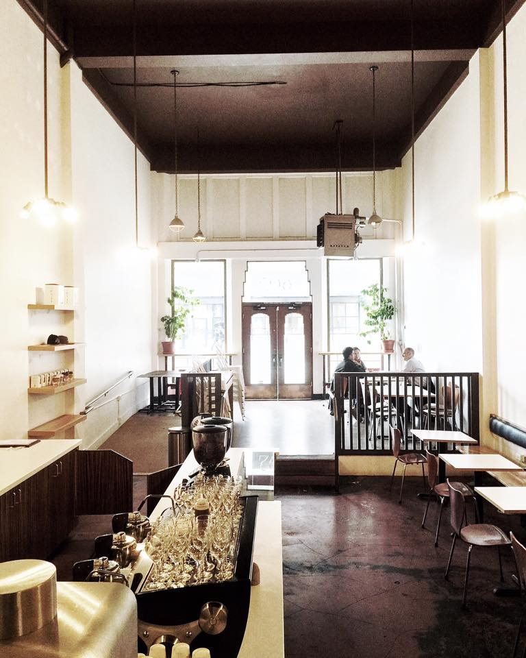 The new Slate Coffee in Pioneer Square