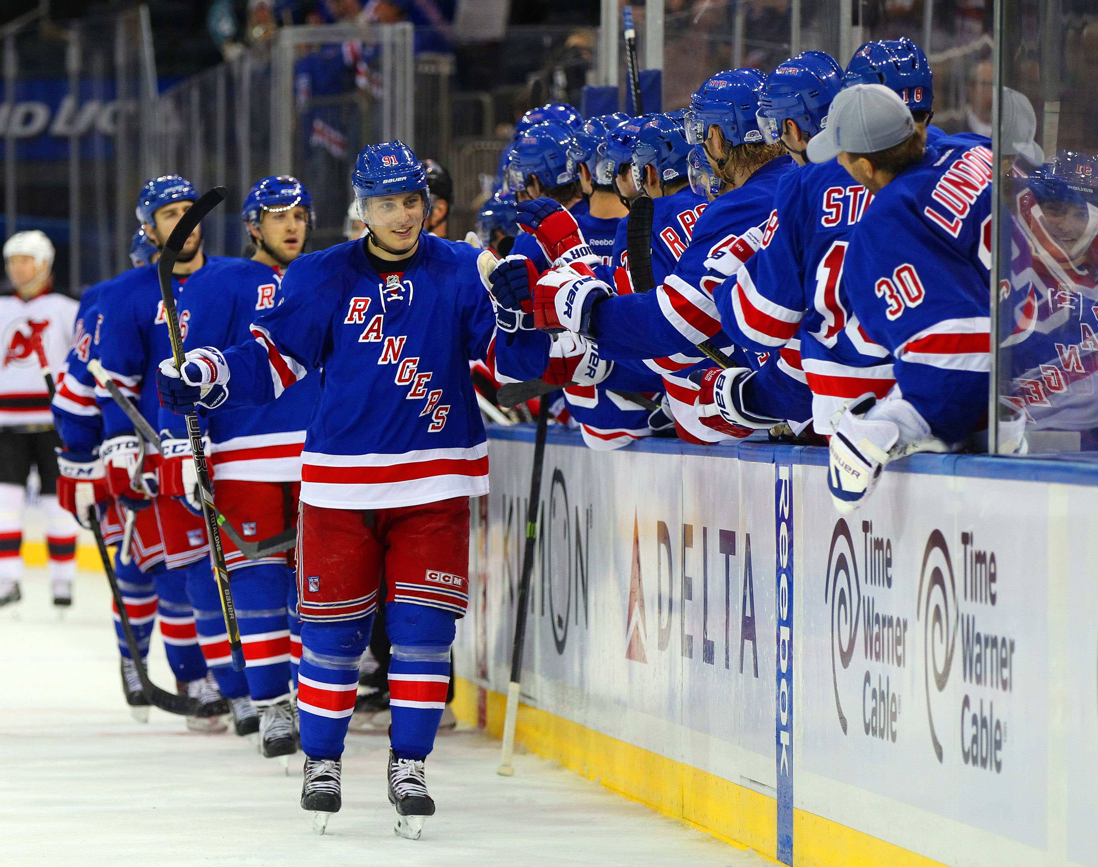 Rangers Announce Lineup For Preseason Opener