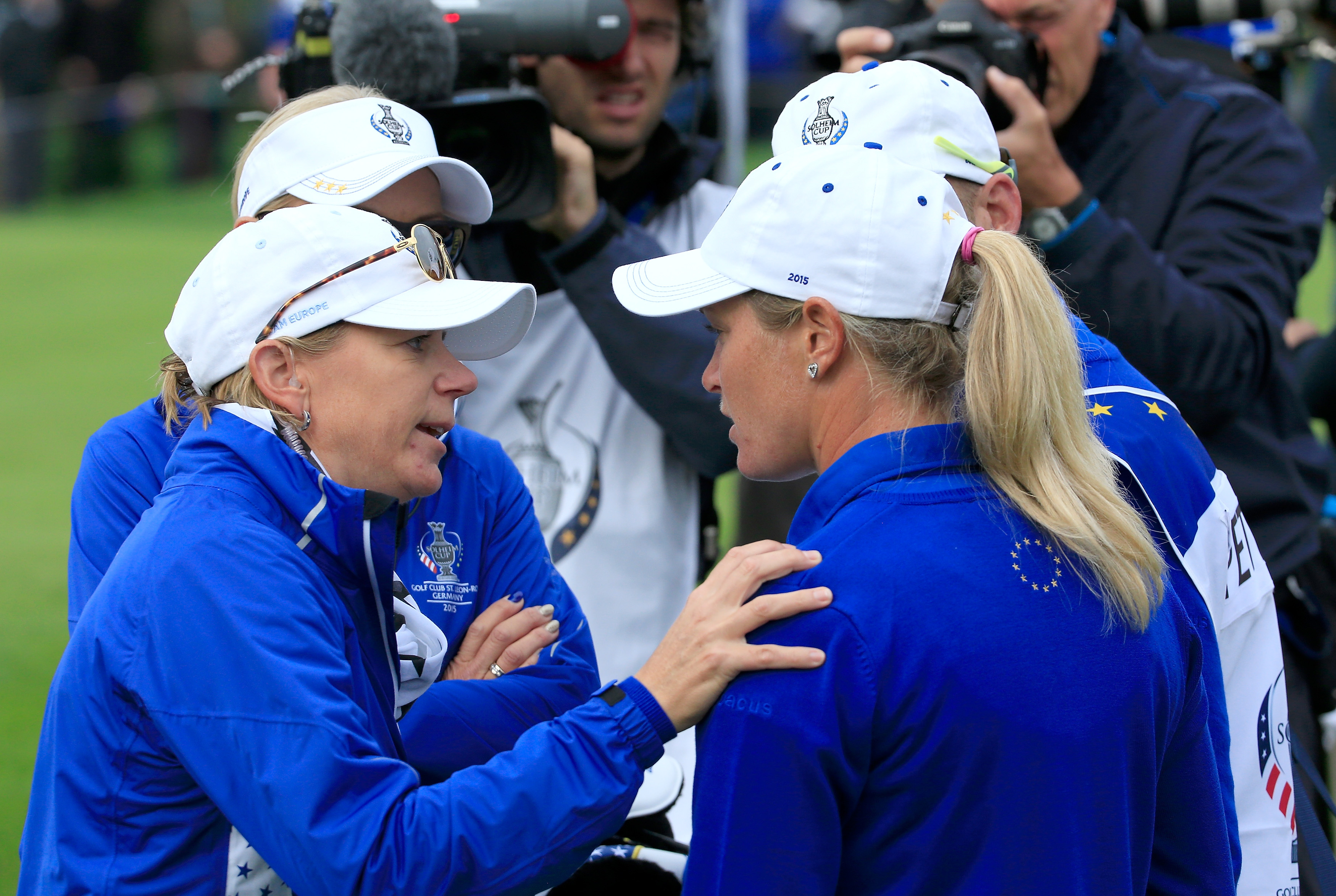 Suzann Pettersen apologizes for incident that sparked Team USA's historic Solheim Cup comeback