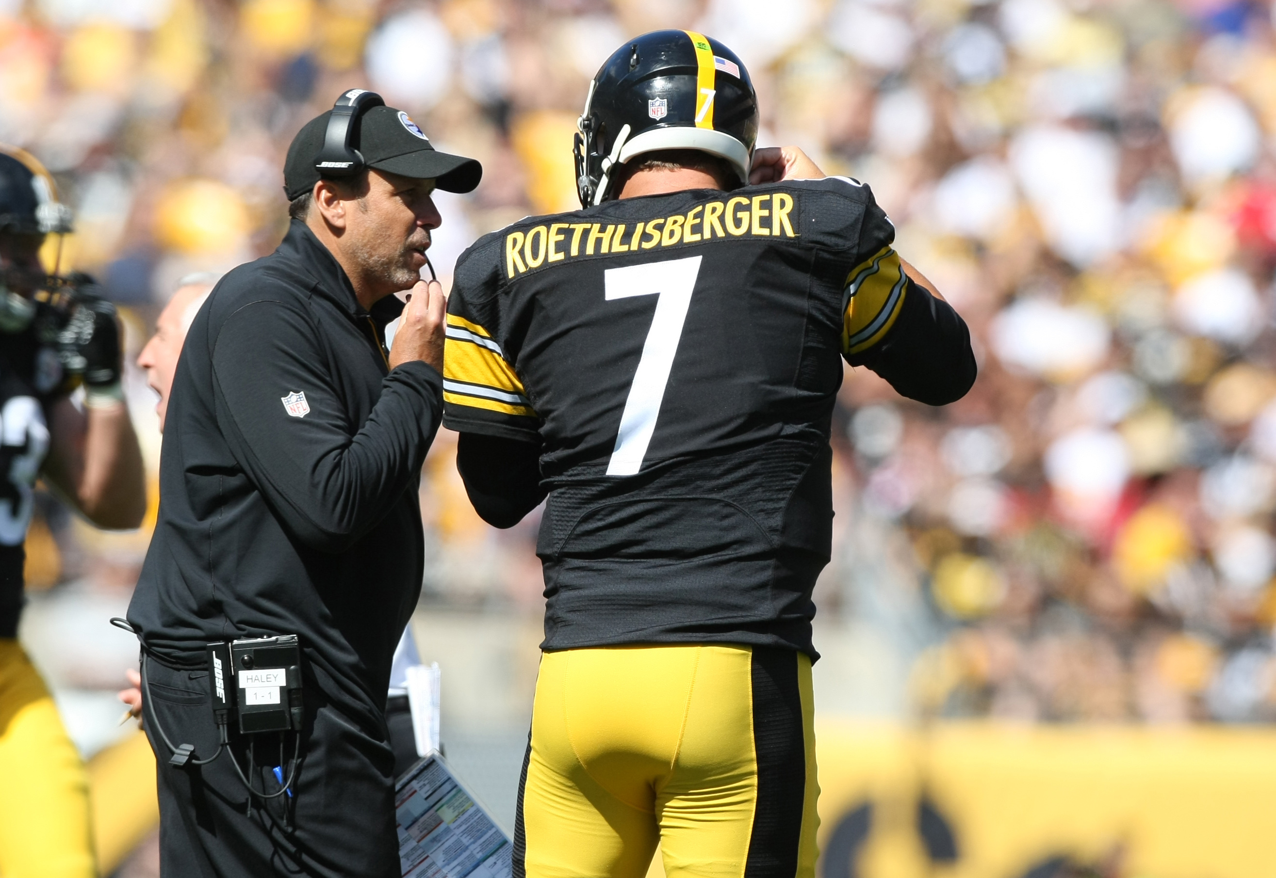 Ben Roethlisberger executed Todd Haley's plan to attack the 49ers with vertical passes to perfection.