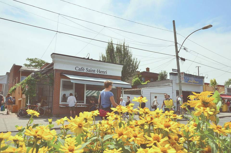 The new Café Saint-Henri at Jean-Talon Market