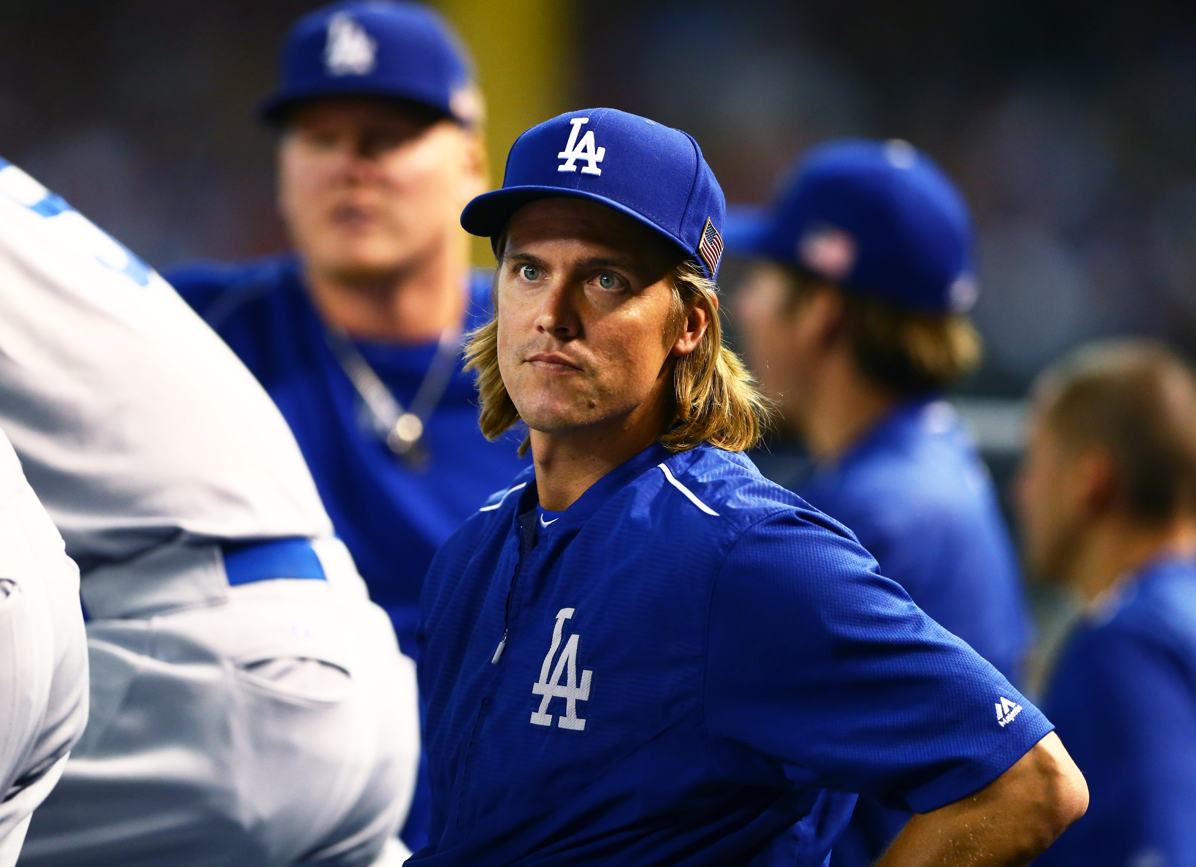Zack Greinke, seen here daydreaming about FIP