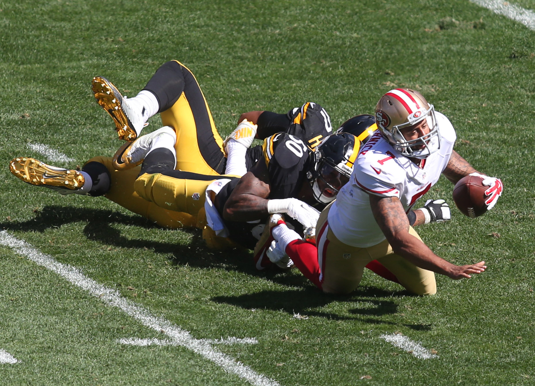 Ryan Shazier was Colin Kaepernick's kryptonite in the Steelers' 43-18 win over the 49ers.