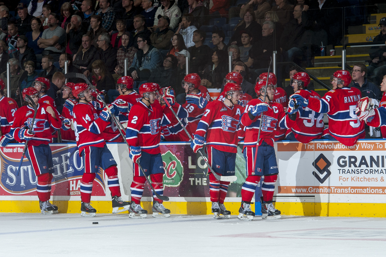 High fives for hockey season!