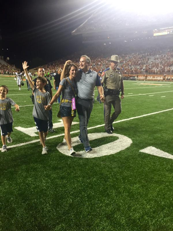 Sonny Dykes and family!
