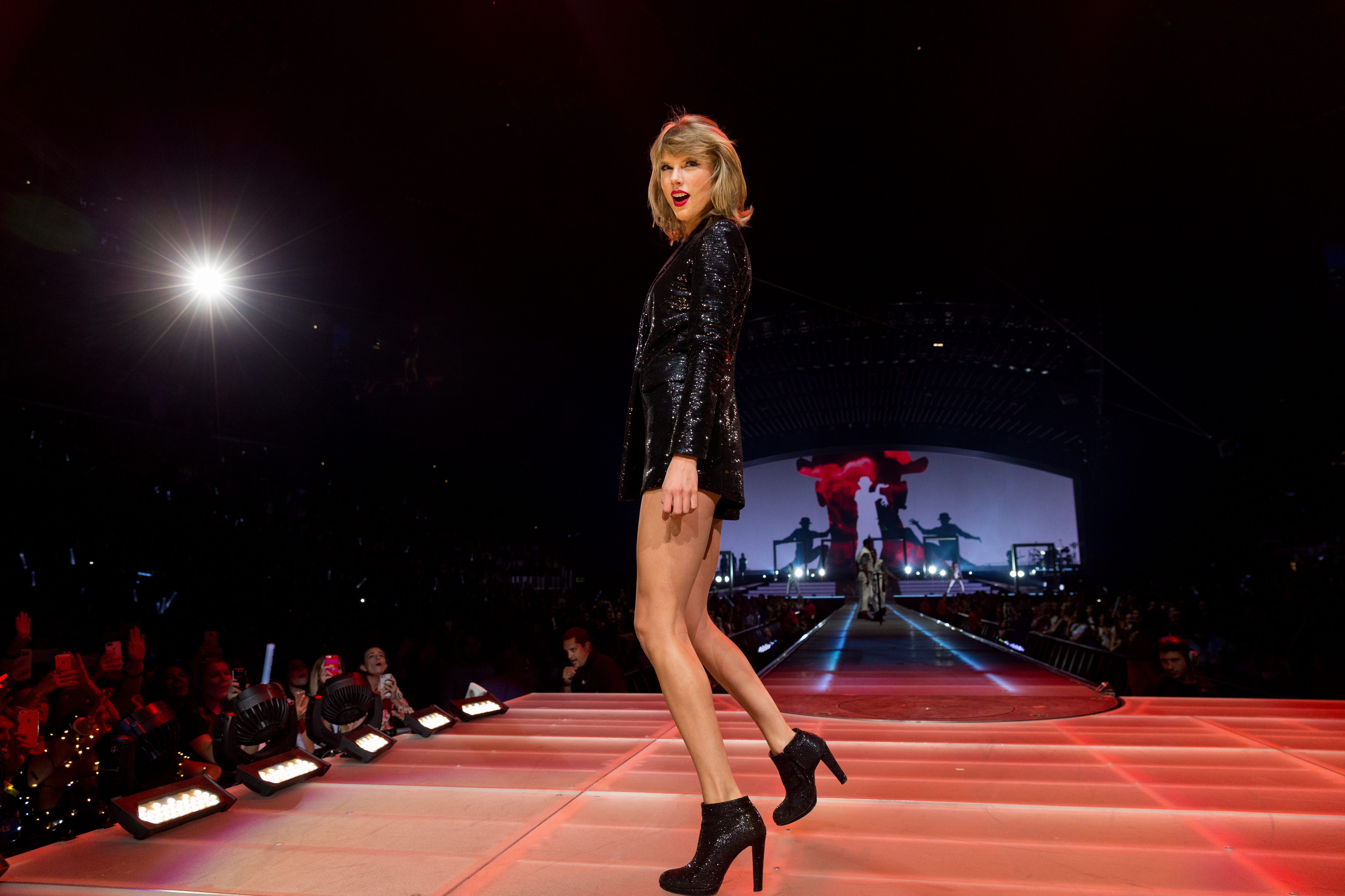 There are so many Taylor Swift pictures in our media library...