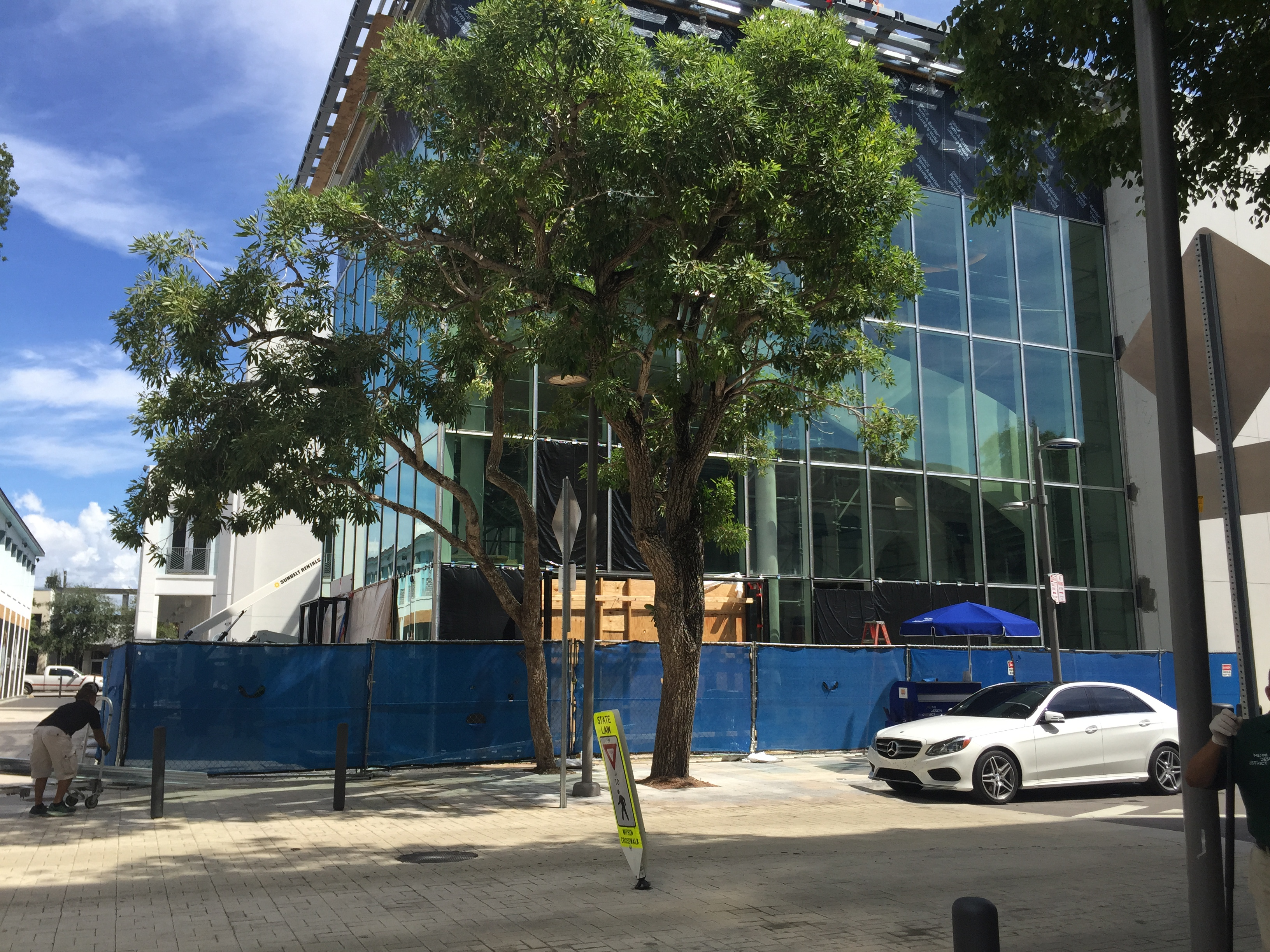 The future Hermés store in the Design District