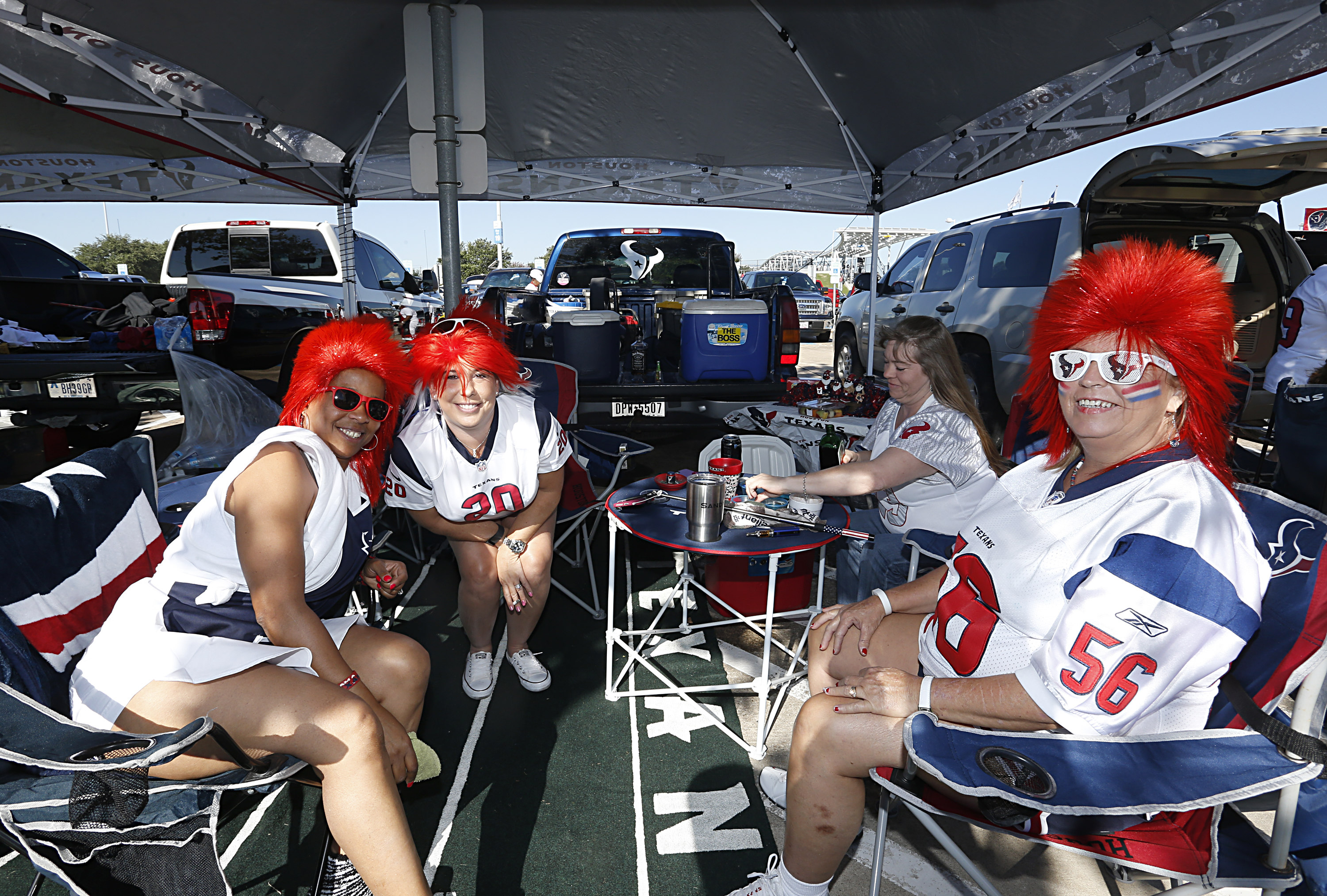 Even if the game is tough to watch, the tailgating should be sweet.