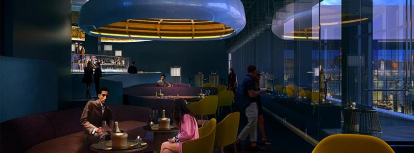 Skyfall Lounge rendering