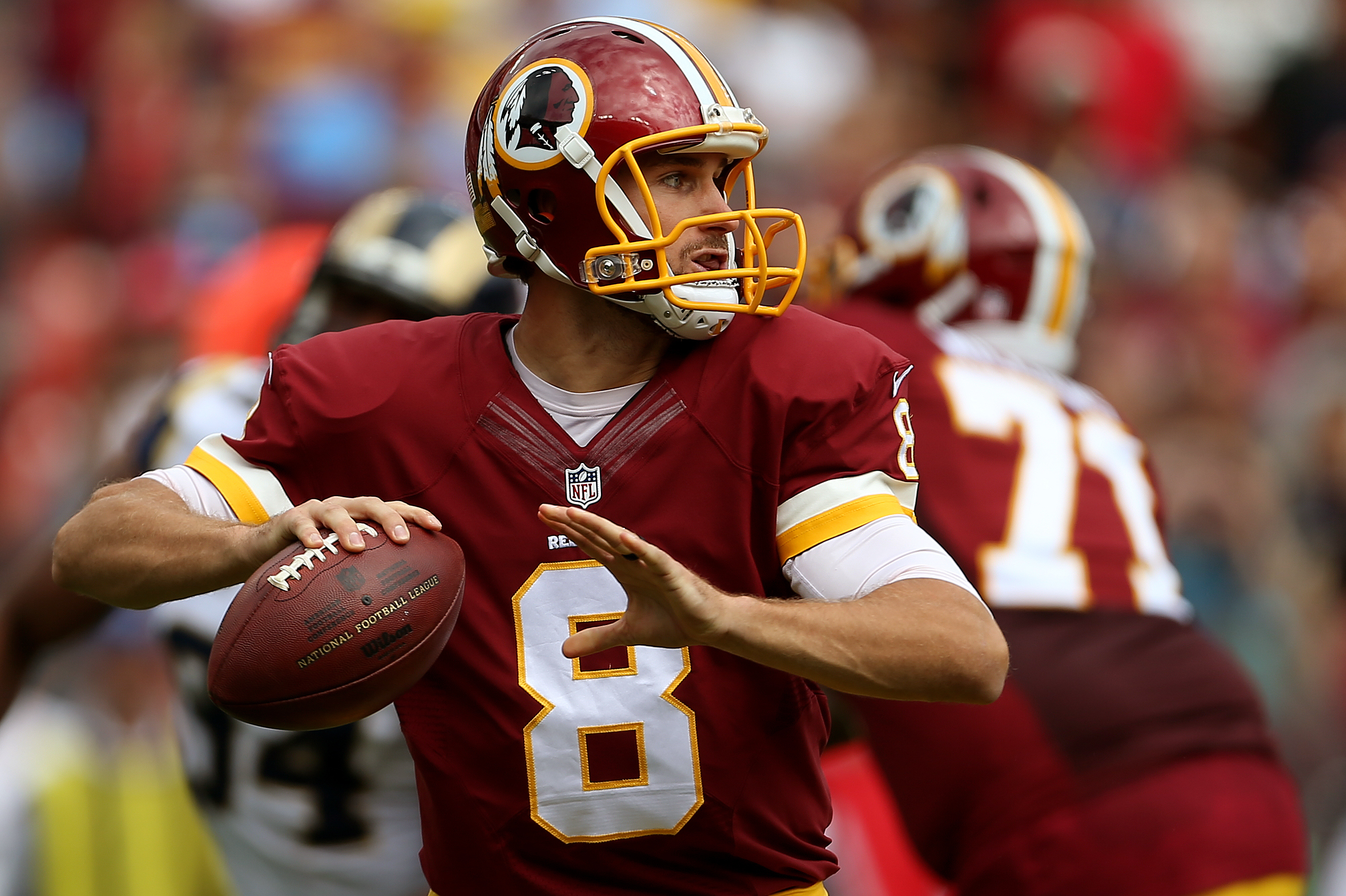 The Giants need to test Washington quarterback Kirk Cousins on Thursday night