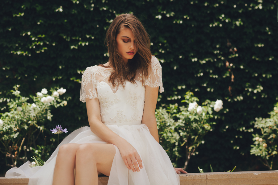Brides: Sarah Seven's Dreamy, USA-Made Wedding Gowns Arrive in LA