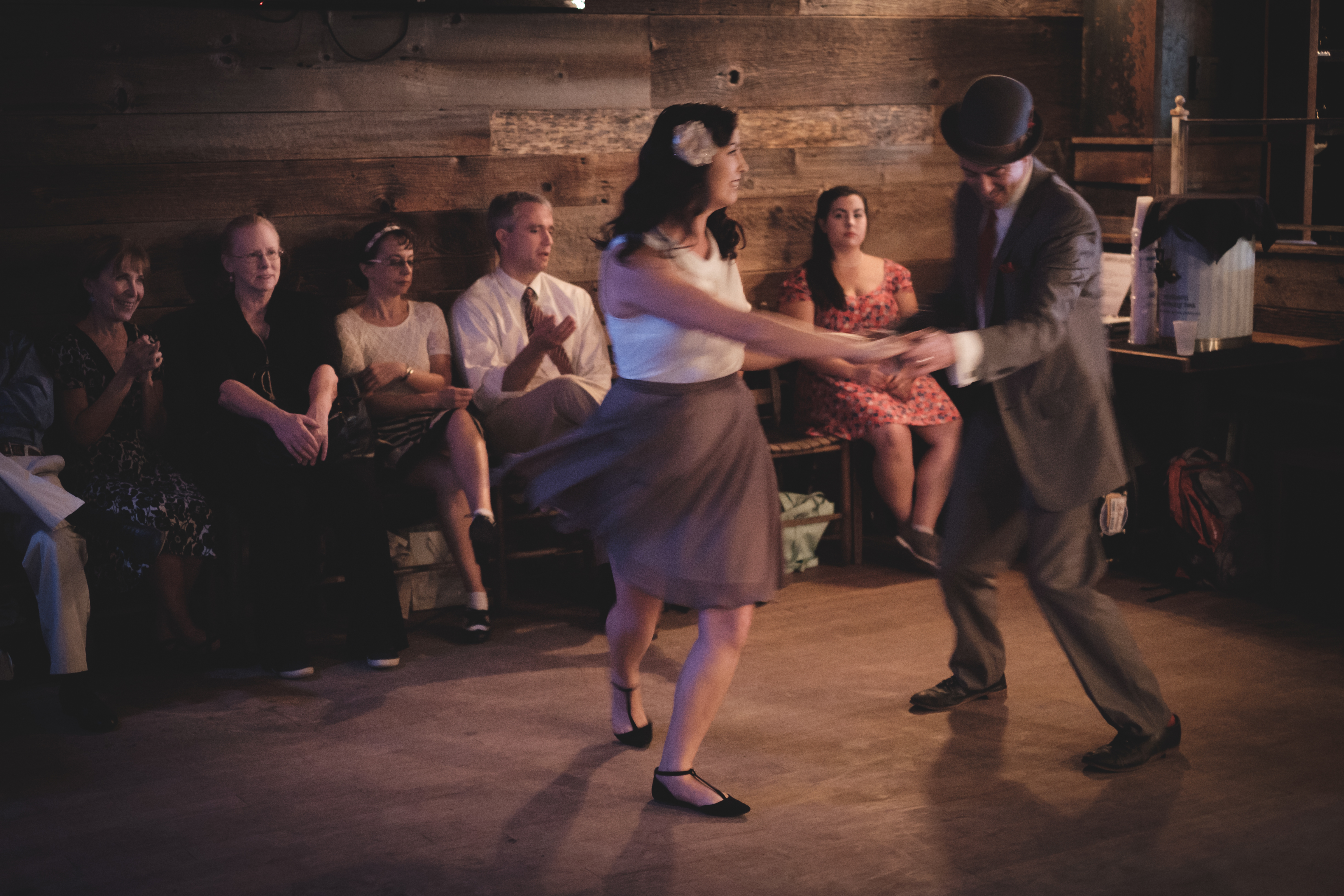 Swing dancing at Prohibition