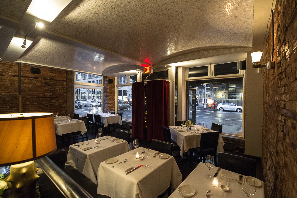 [The Clam on Hudson Street.  Great choice for dinner this evening.]