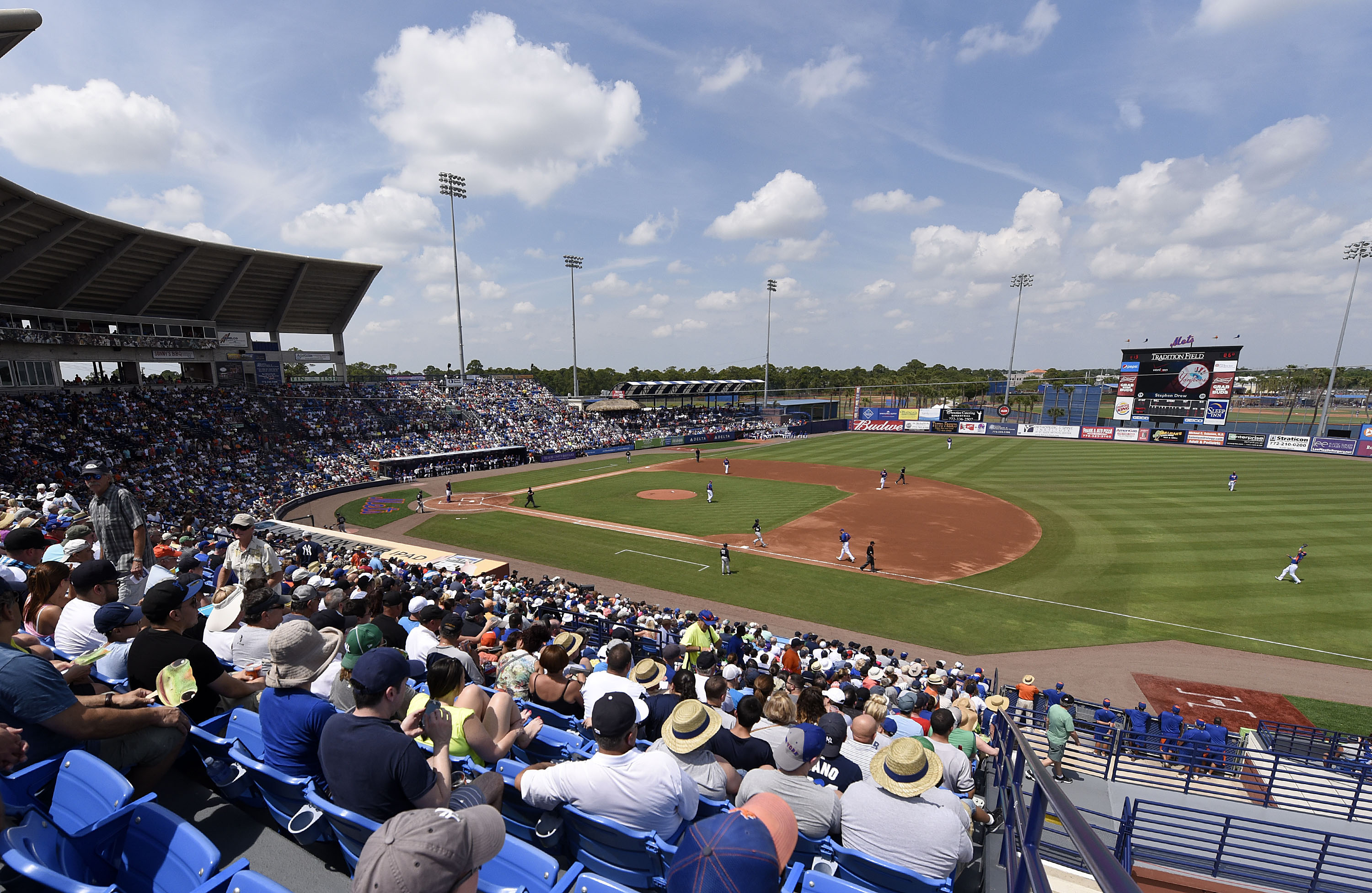 Tradition Field, home to the St. Lucie Mets