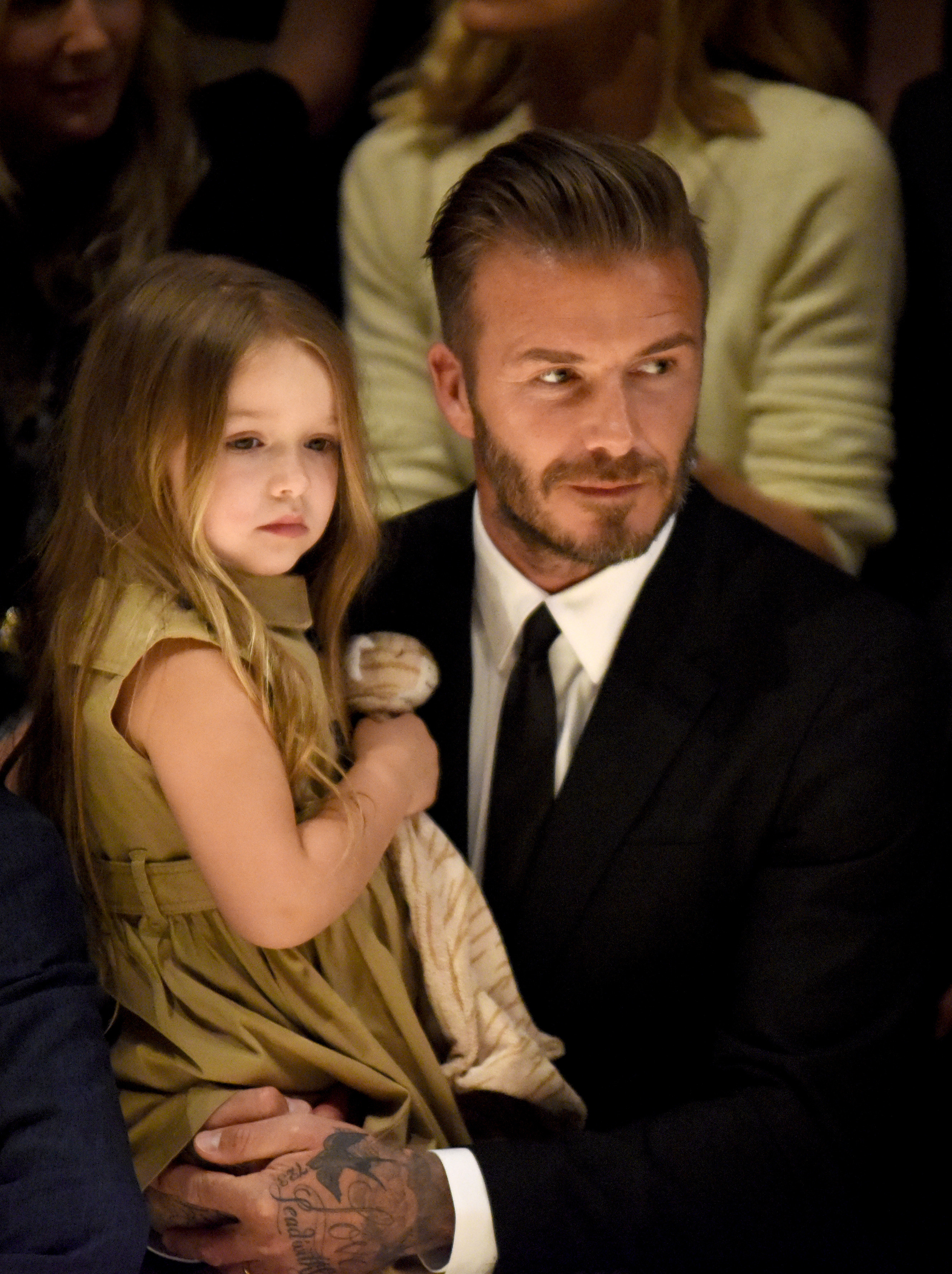 David Beckham Takes Responsibility for Harper's Incredibly Long Hair