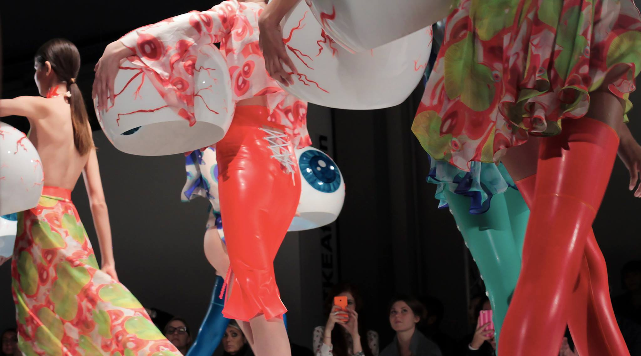Ikea's First-Ever Fashion Show Included Break Dancing and Massive Eyeballs