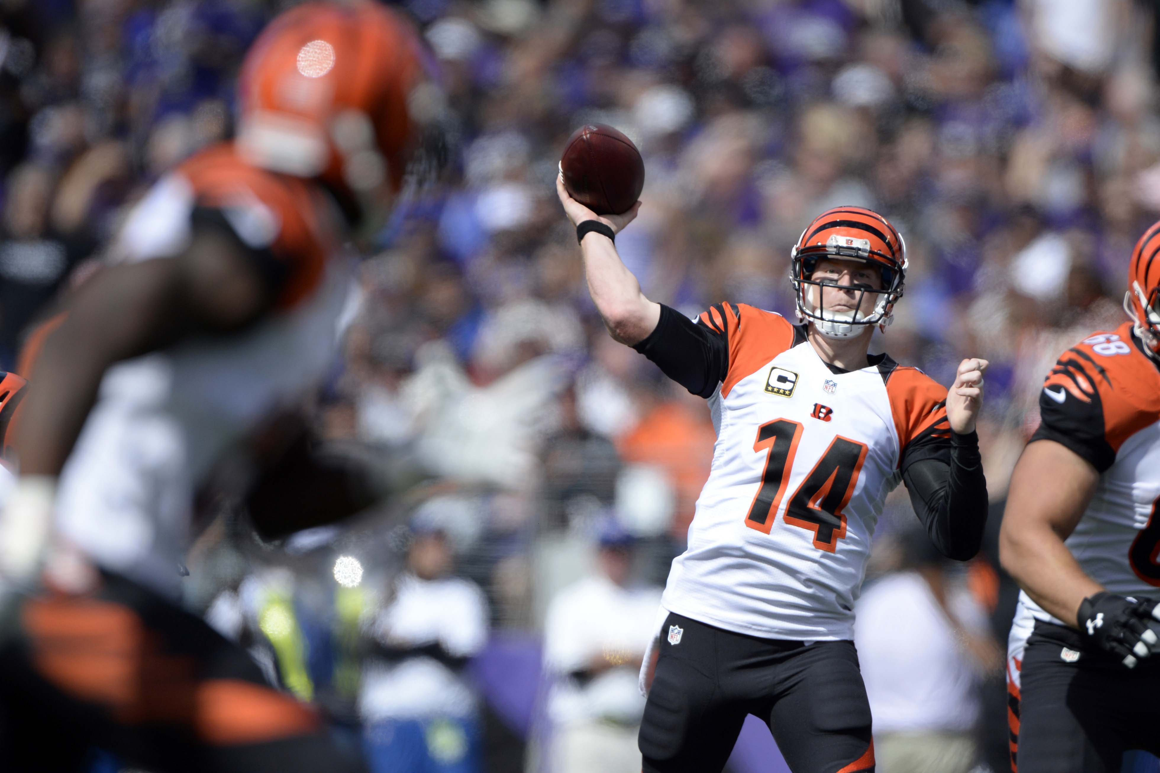 Andy Dalton knows what he's doing, finally