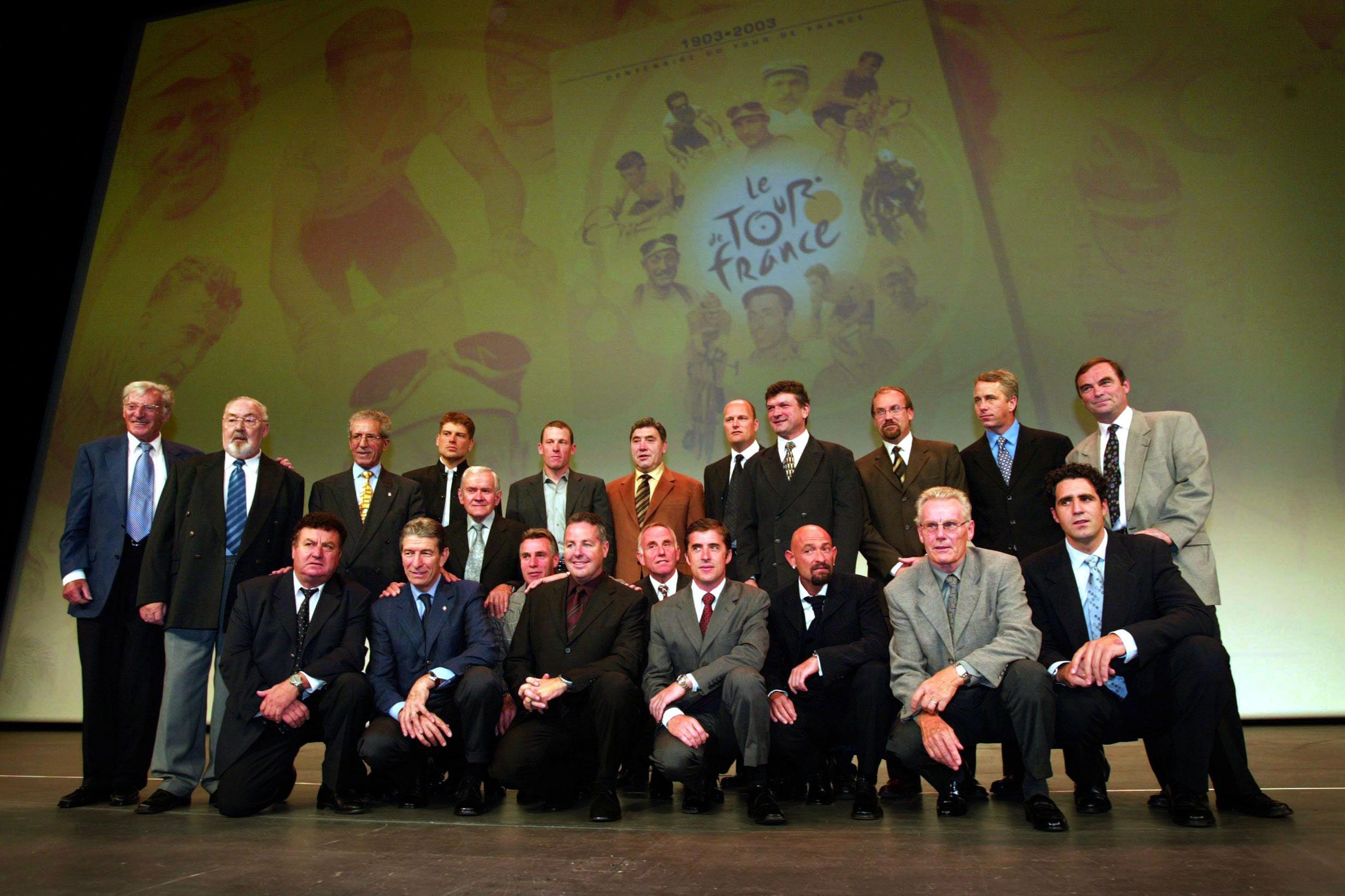 Palais de Congrès, 2002, The Tour de France's yellow jersey club
