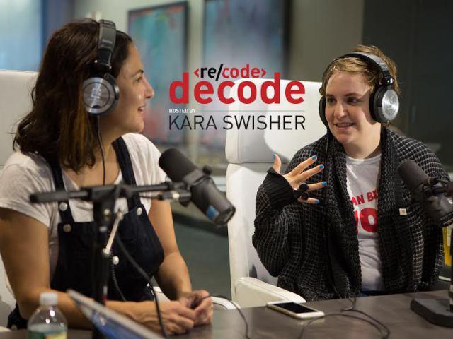 Re/code Decode: Lenny Newsletter Co-Founders Lena Dunham and Jenni Konner