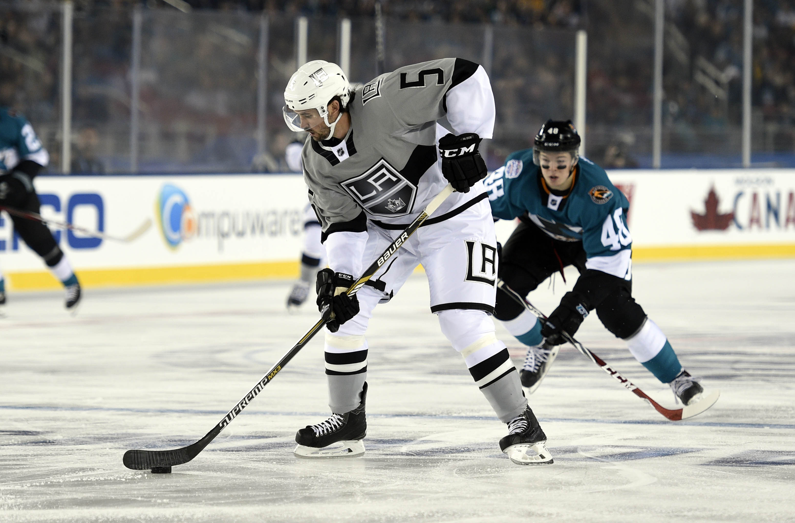 The Kings are 10305-1-6 with Jamie McBain in the lineup.