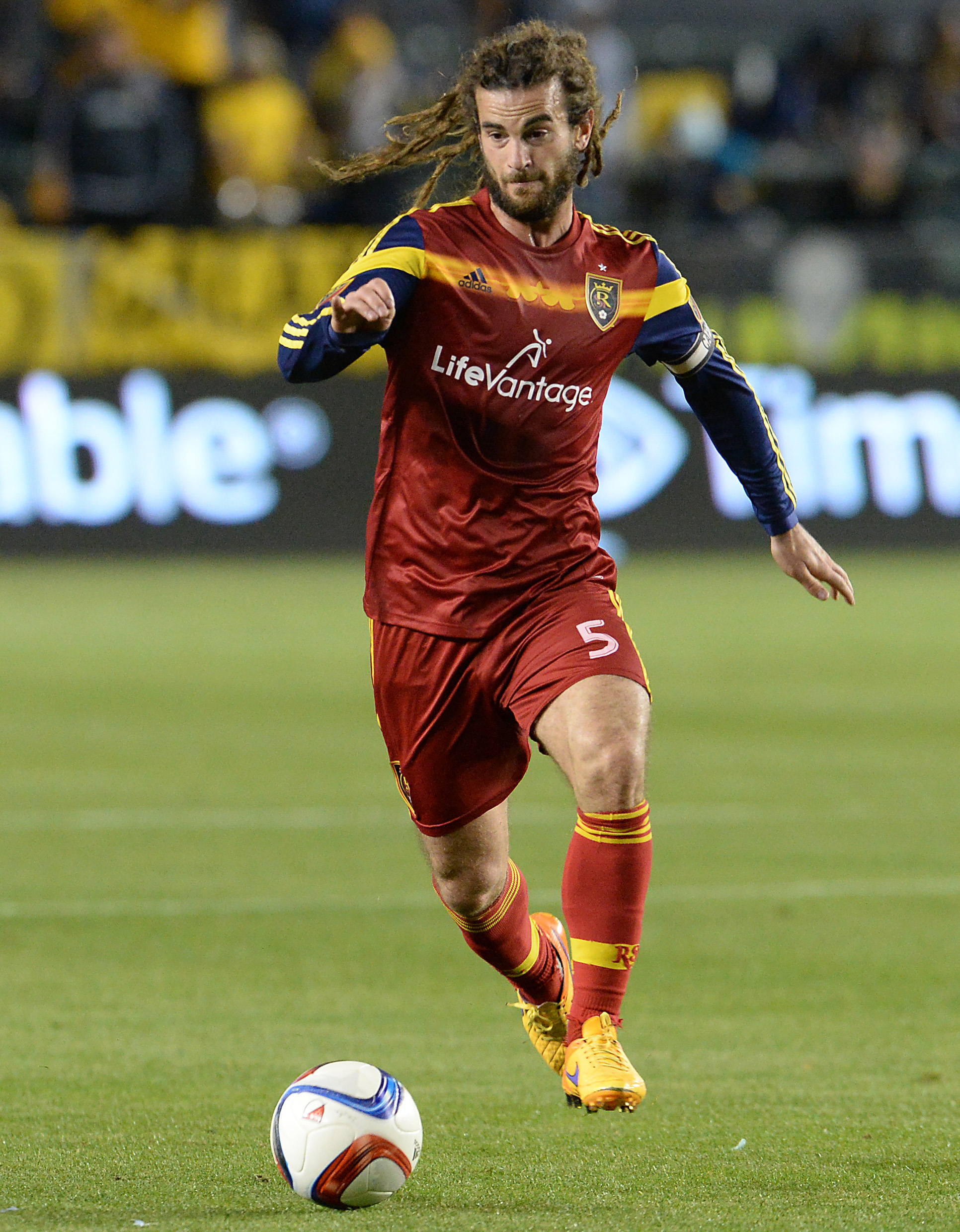 Kyle Beckerman and RSL have endured a tough season on the Wasatch Front in Utah.