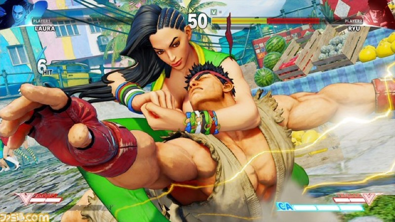Street Fighter 5's newest character is a Brazilian woman