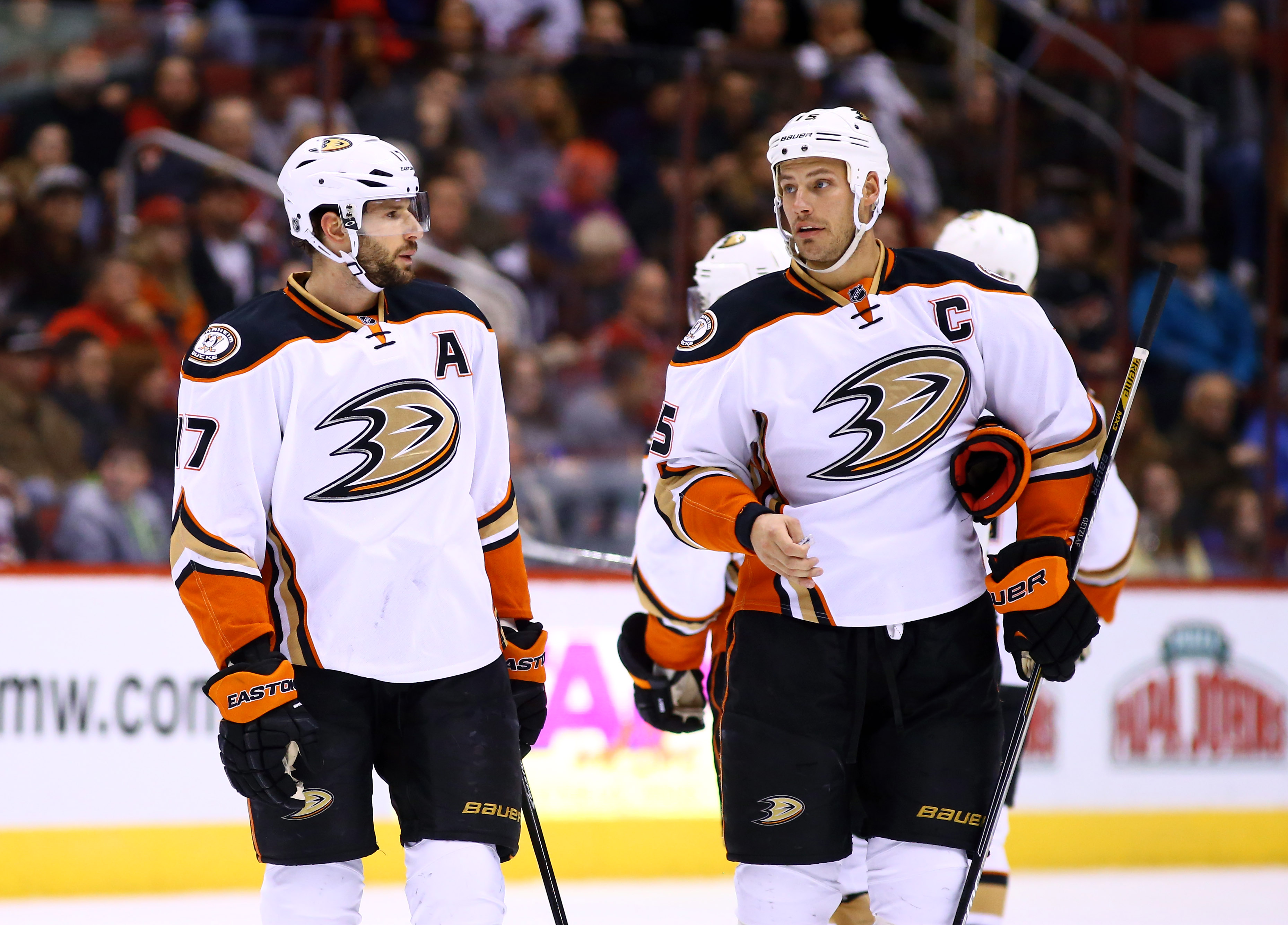 Ryan Kesler and Ryan Getzlaf give the Ducks one of the best Center duos in the league.