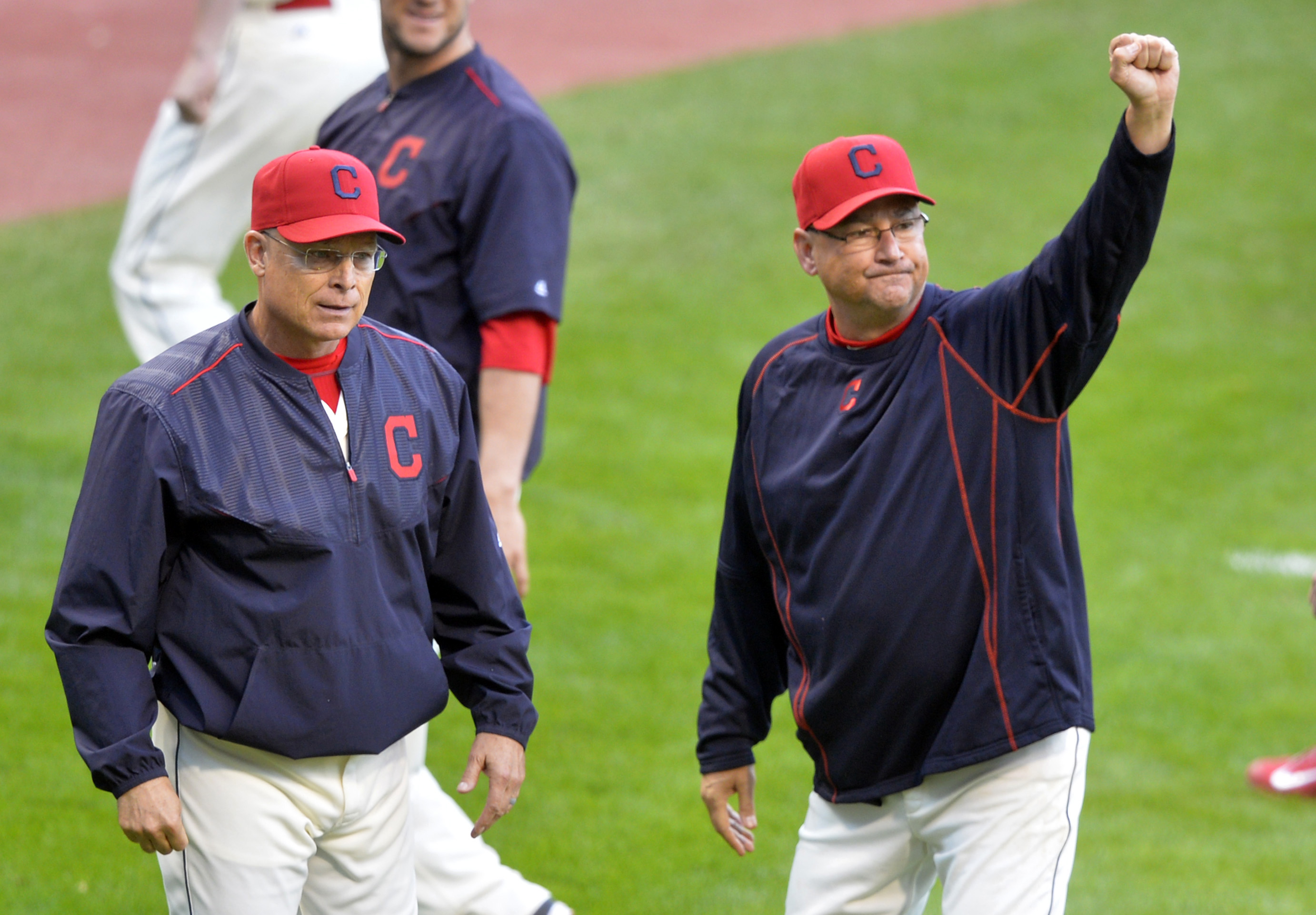No, Terry Francona was not the Player of the Week, I just wanted a photo that didn't give the winner away. • PHOTO