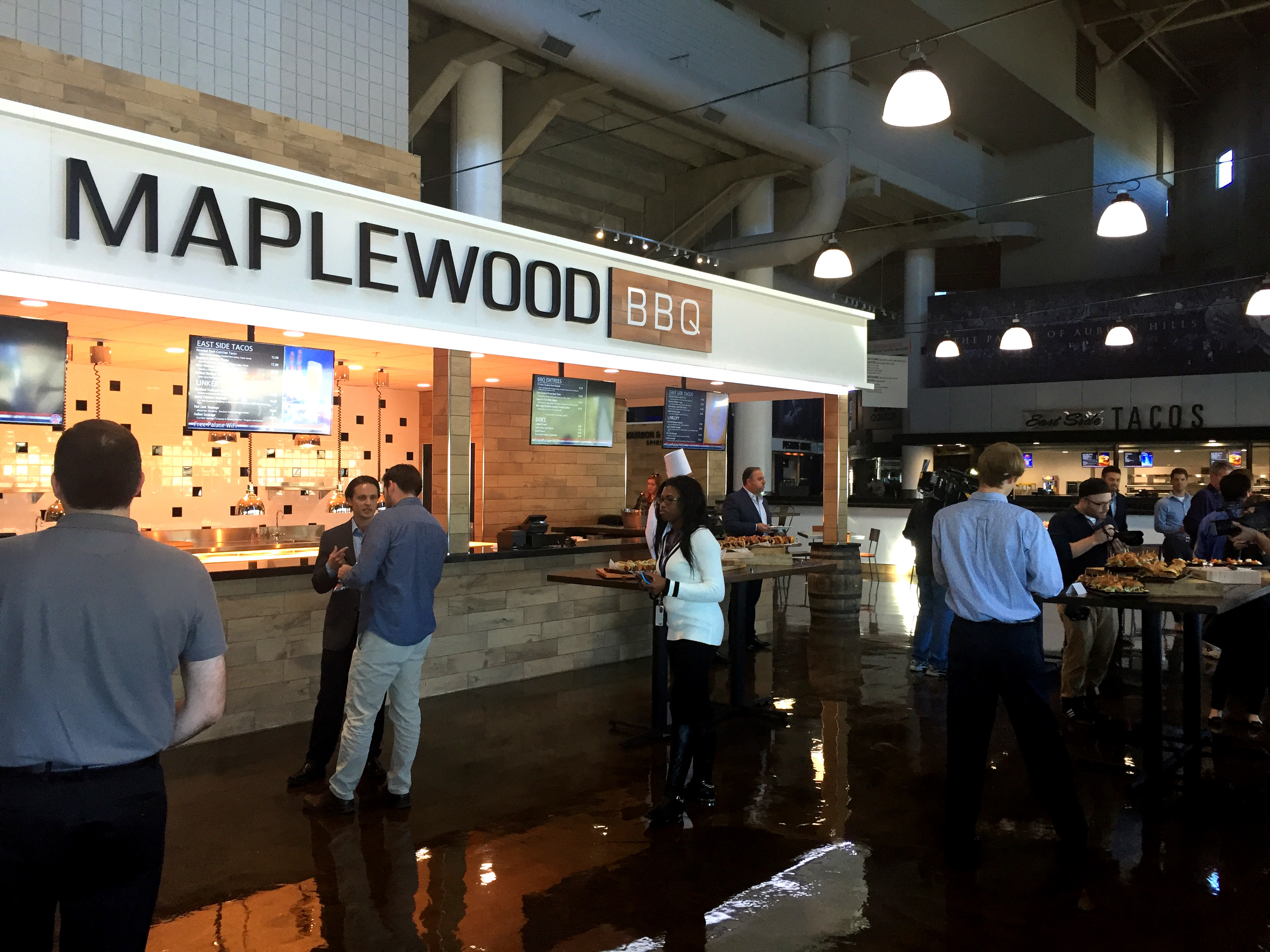 Maplewood BBQ is one of several new offerings at the Palace of Auburn Hills.
