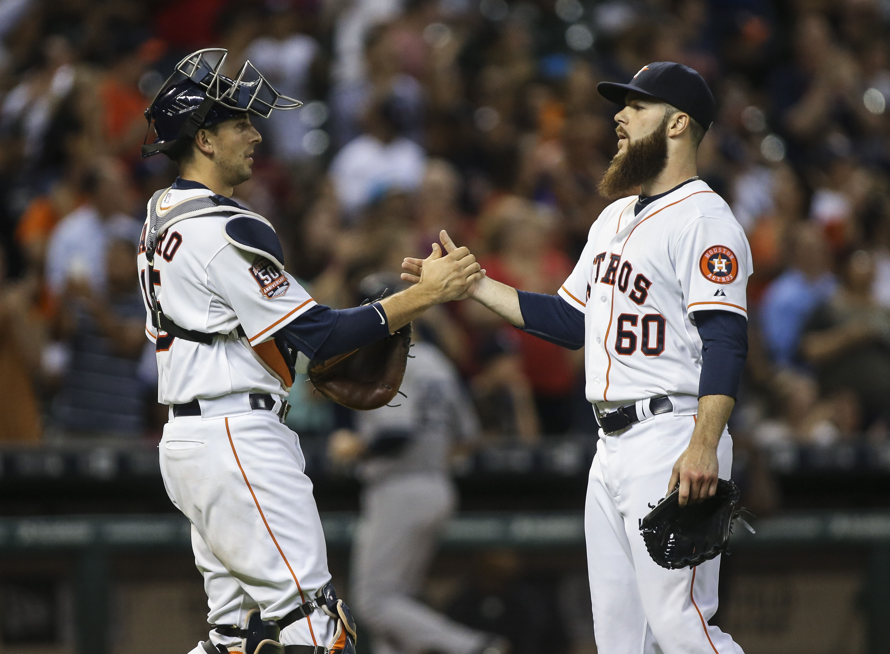Keuchel wouldn't lead the league in ERA without Castro. Or would he?