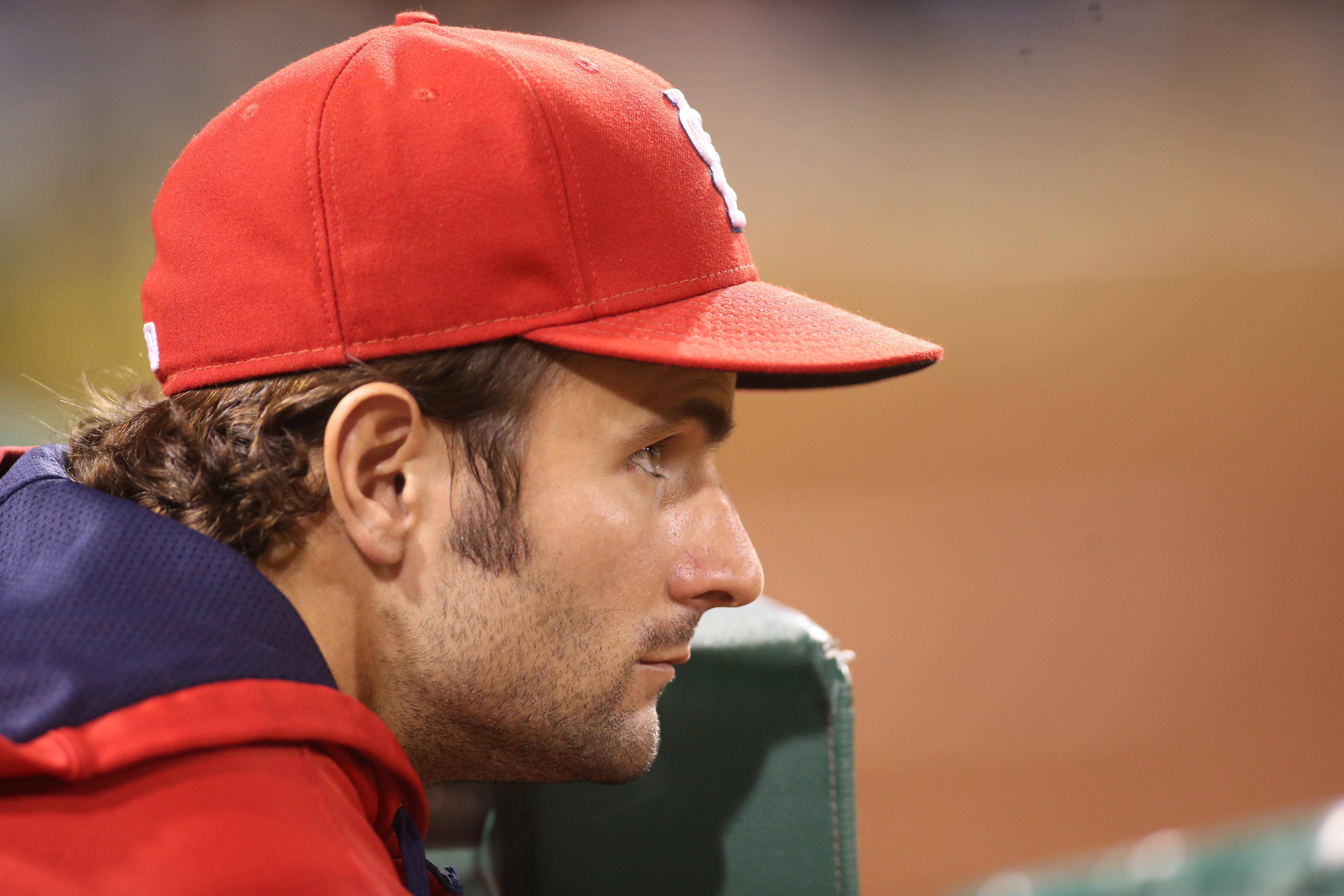 Pete Kozma, who spent every day of the 2015 season on the St. Louis Cardinals' active roster.