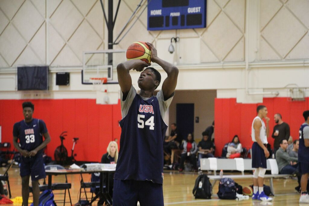 5-star recruit Mohamed Bamba and his 7'8 wingspan must be seen to be believed
