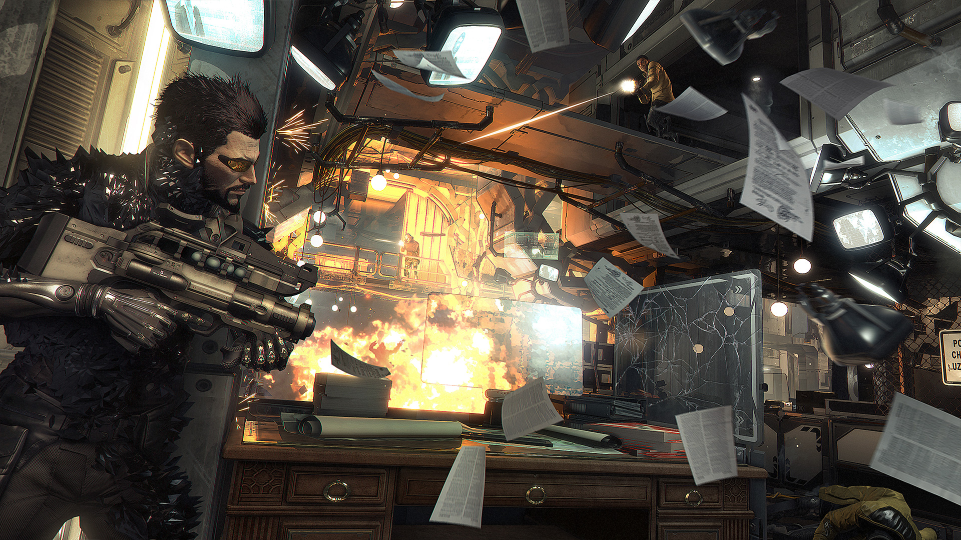Deus Ex: Mankind Divided lets your choices define you in its oppressive world