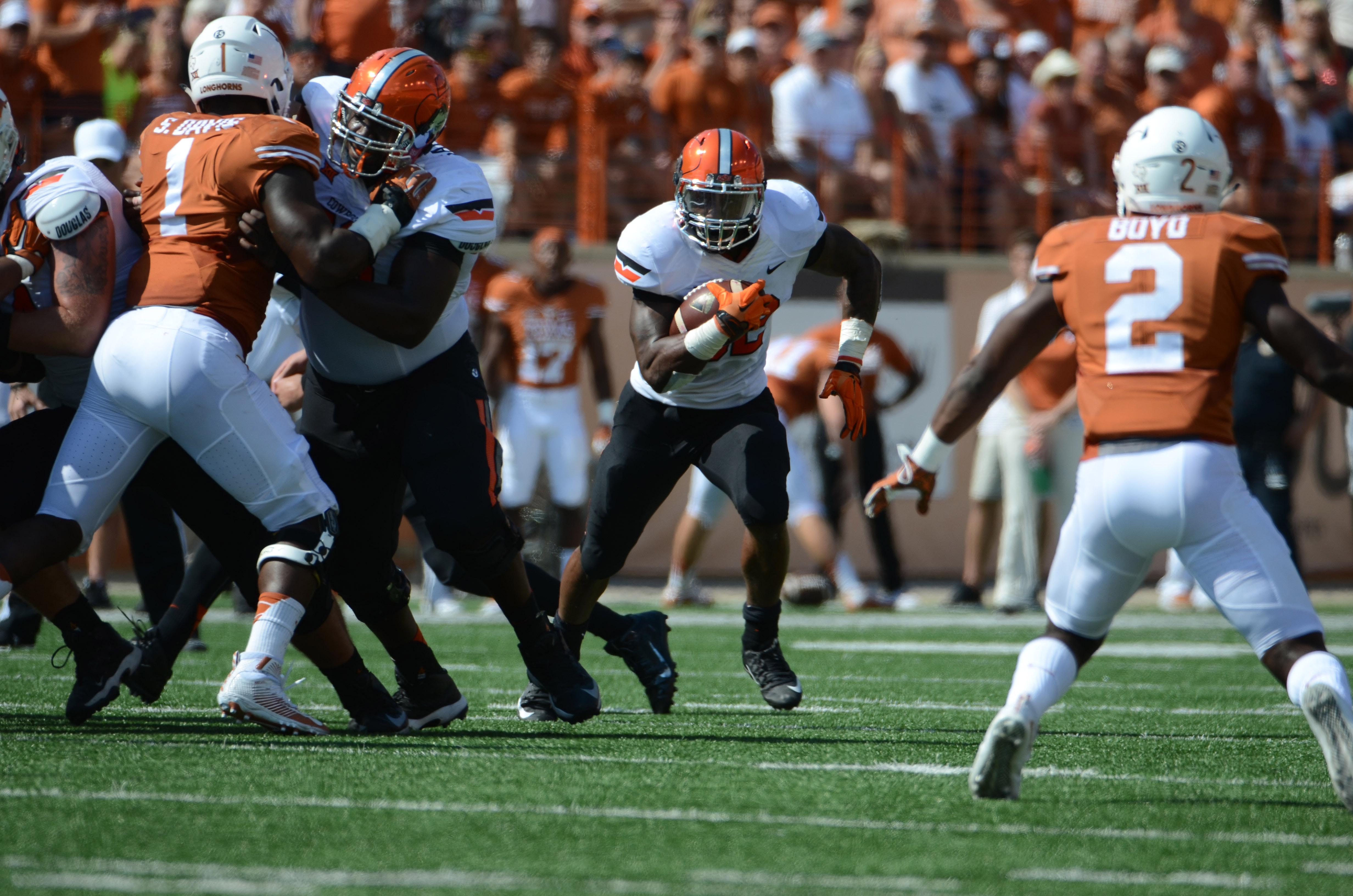 Chris Carson will need to have a good game against WVU