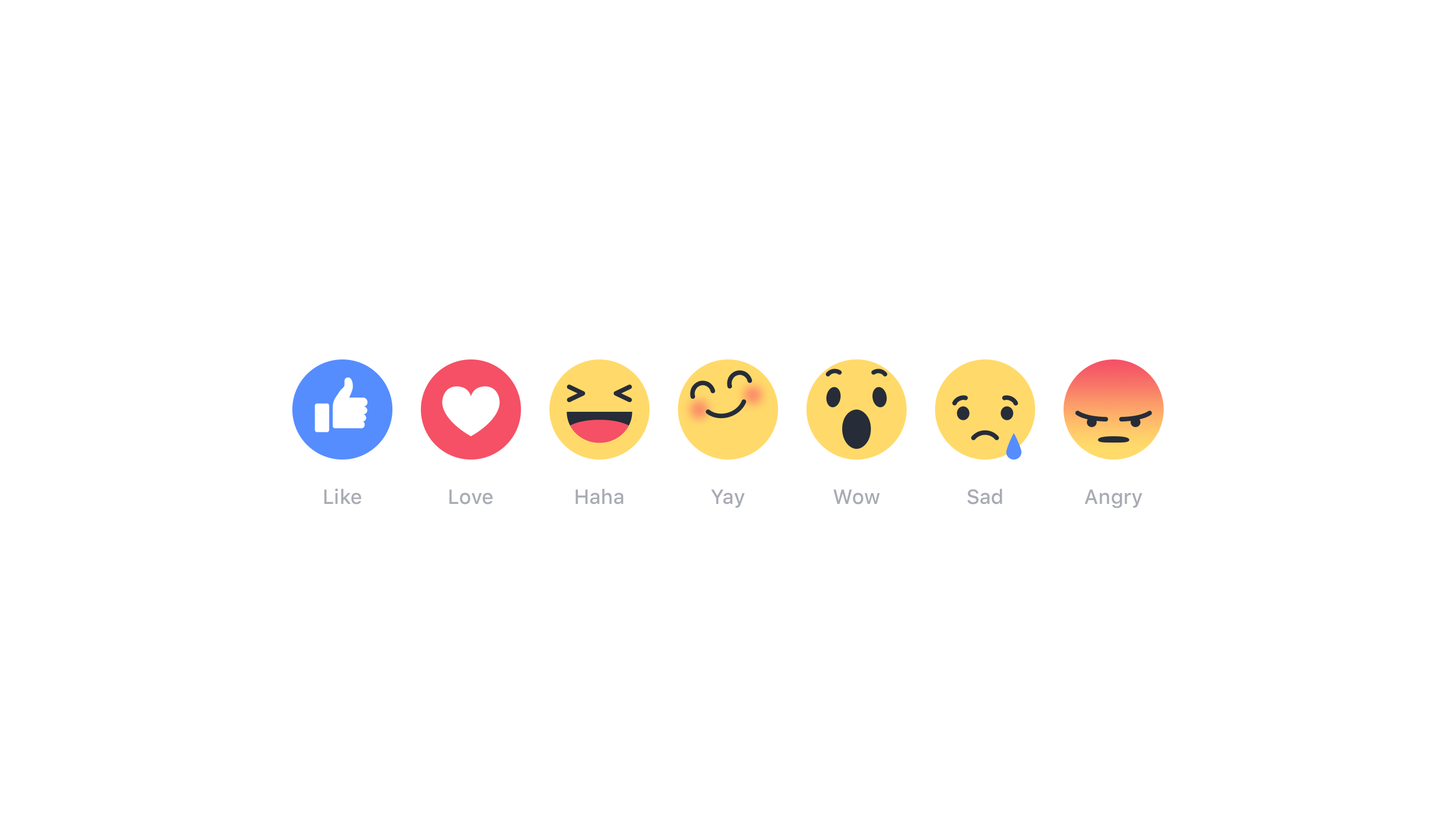 Facebook's new Reaction feature builds popular emoji options
