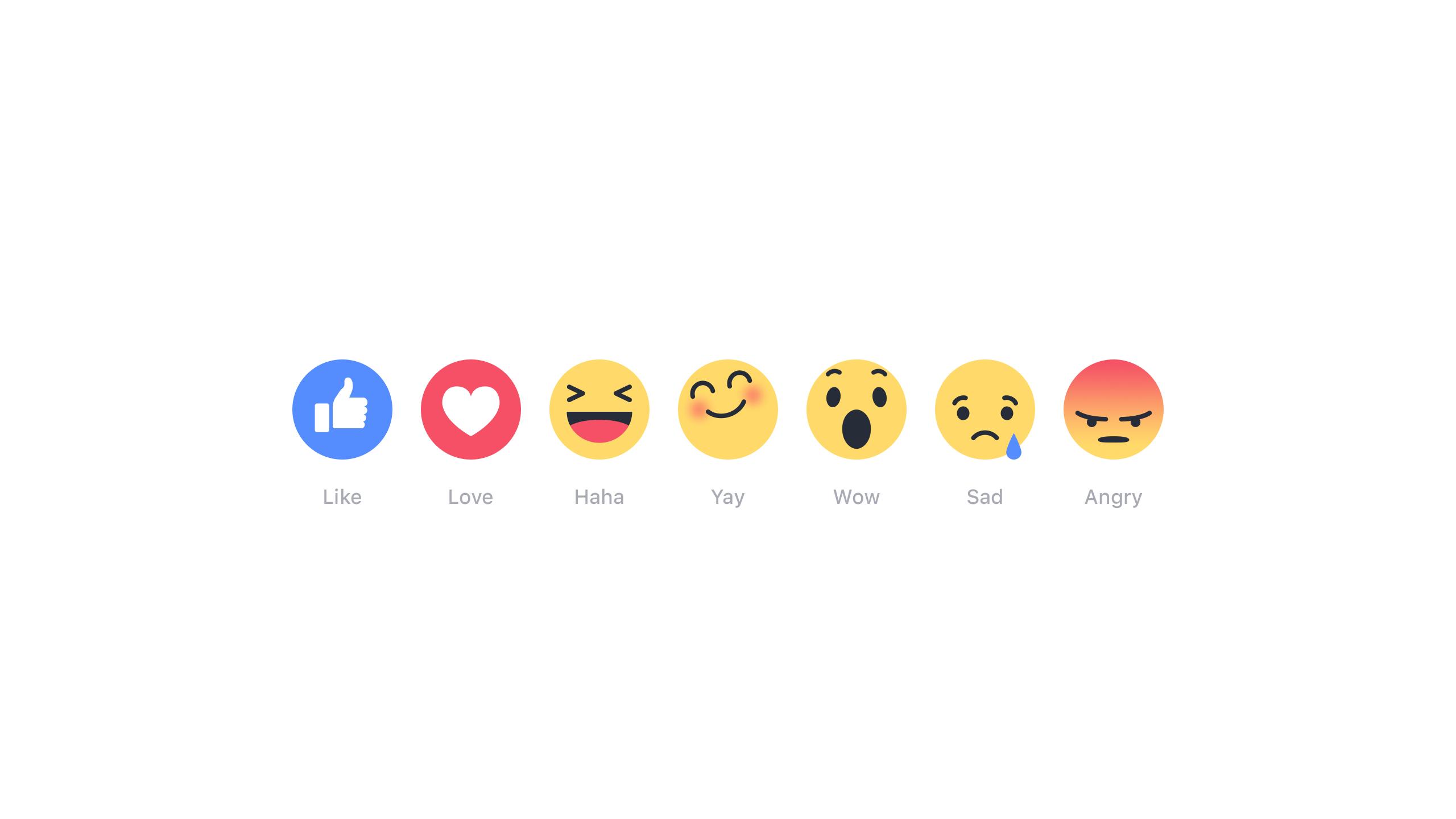 The new Facebook emoji.