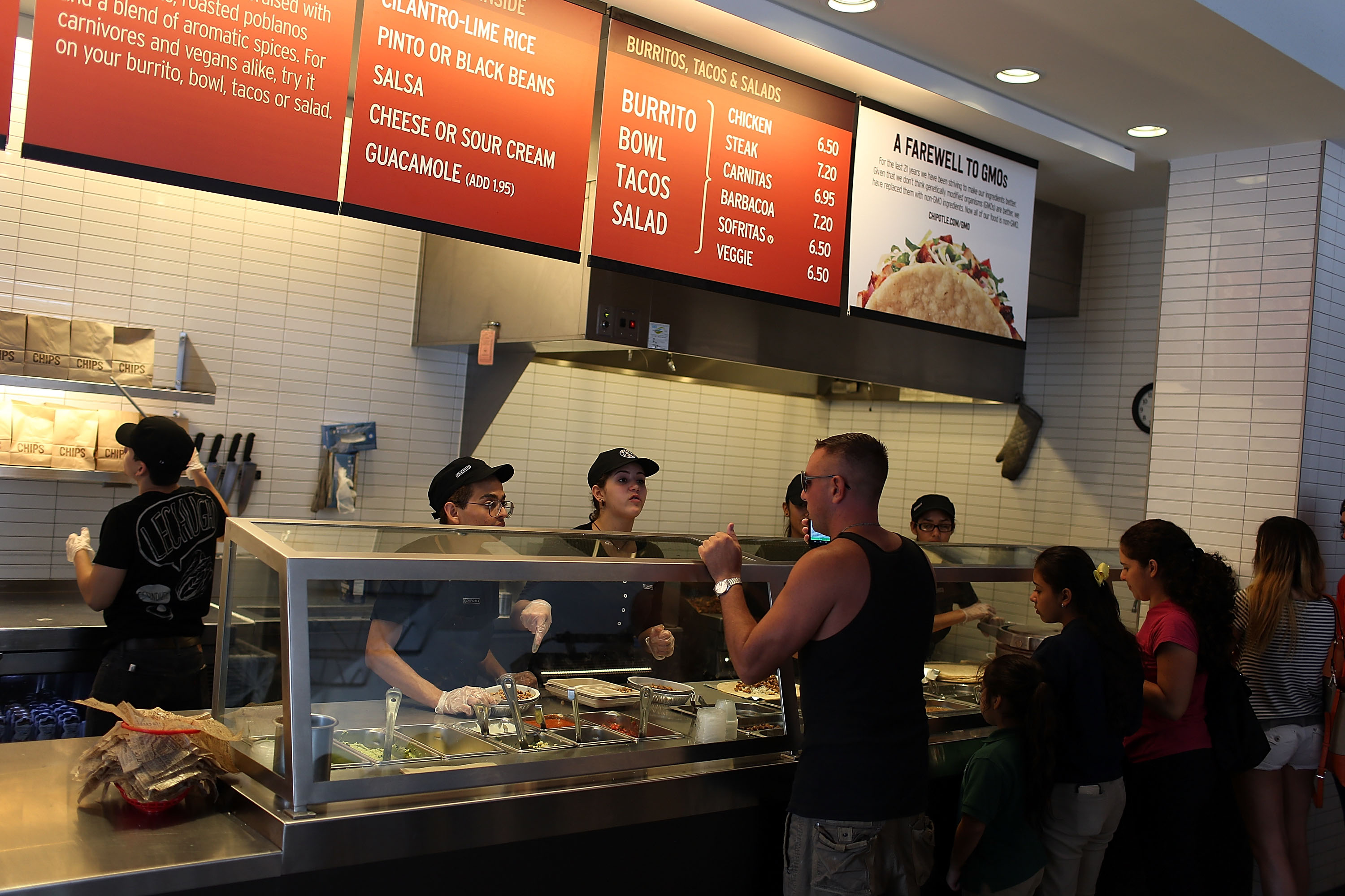 Chipotle Offers a Halloween Special; Fast Food Drive-Thrus Are Slowing Down