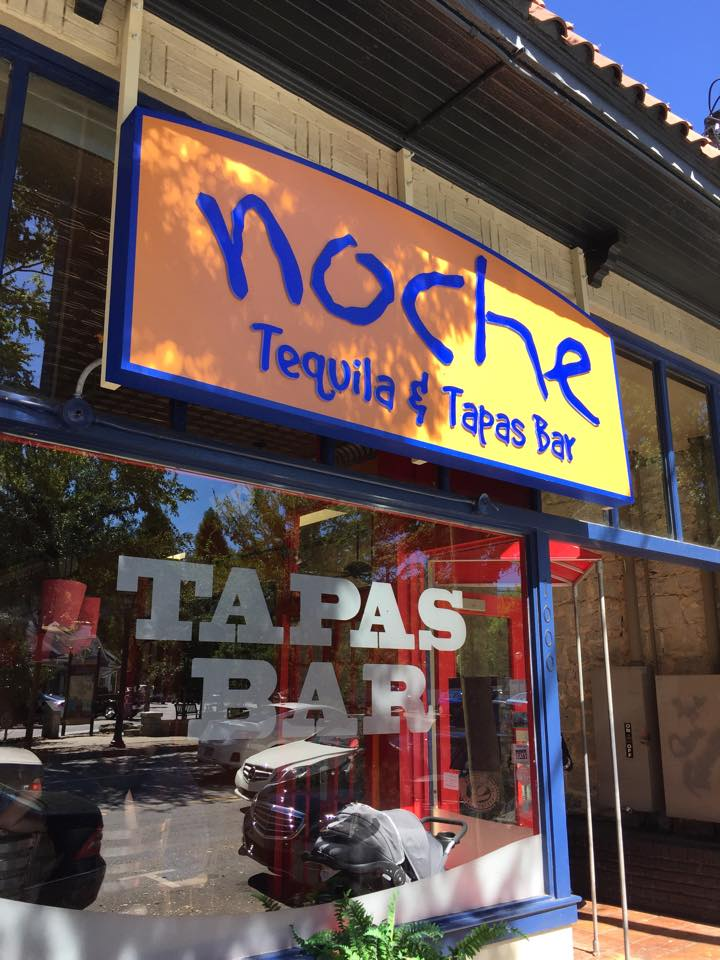 Noche is one of several Here to Serve restaurants that's out of business.