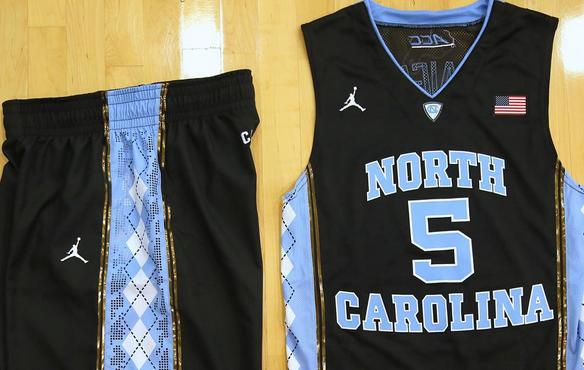 73ad323cb Check out North Carolina s amazing black uniforms