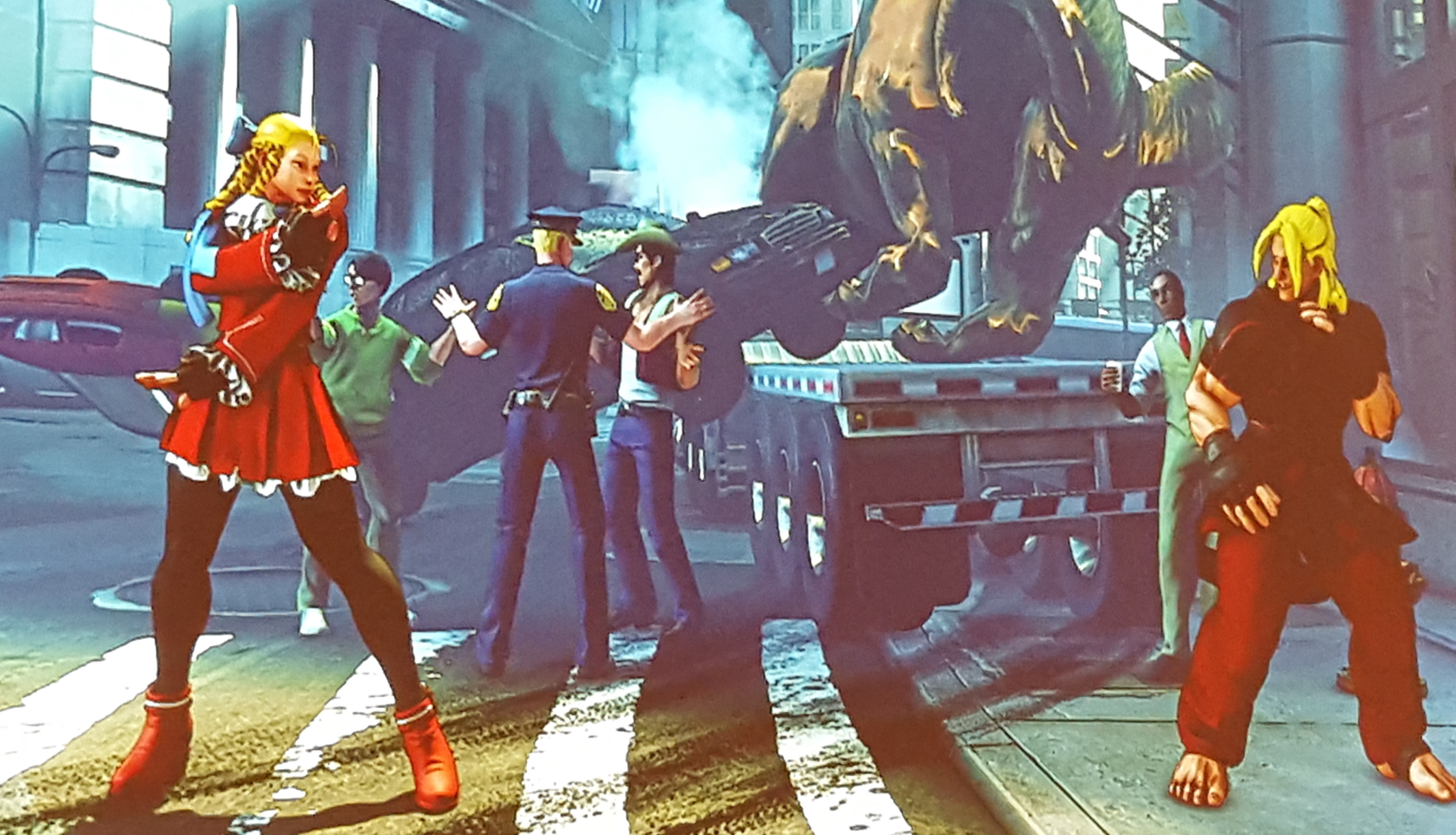 Street Fighter 5's Comic Con appearance is light on news, heavy on cheers