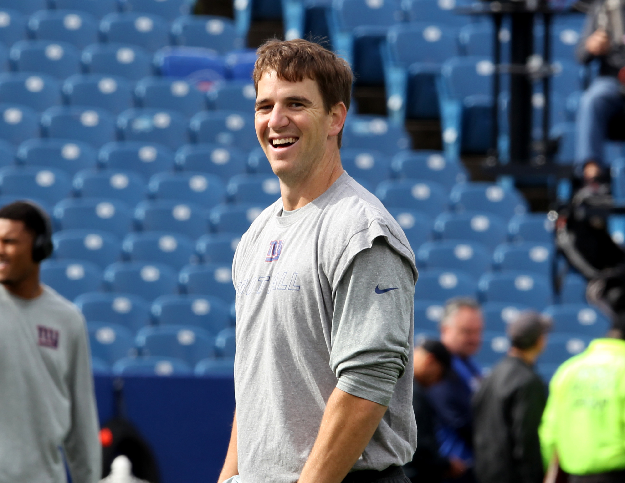 Will Eli Manning and the Giants be smiling Sunday night?