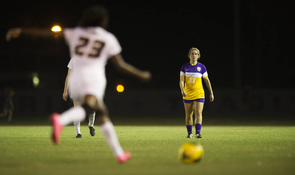 Lexi Gibbs was the only Tiger on the score sheet against Florida