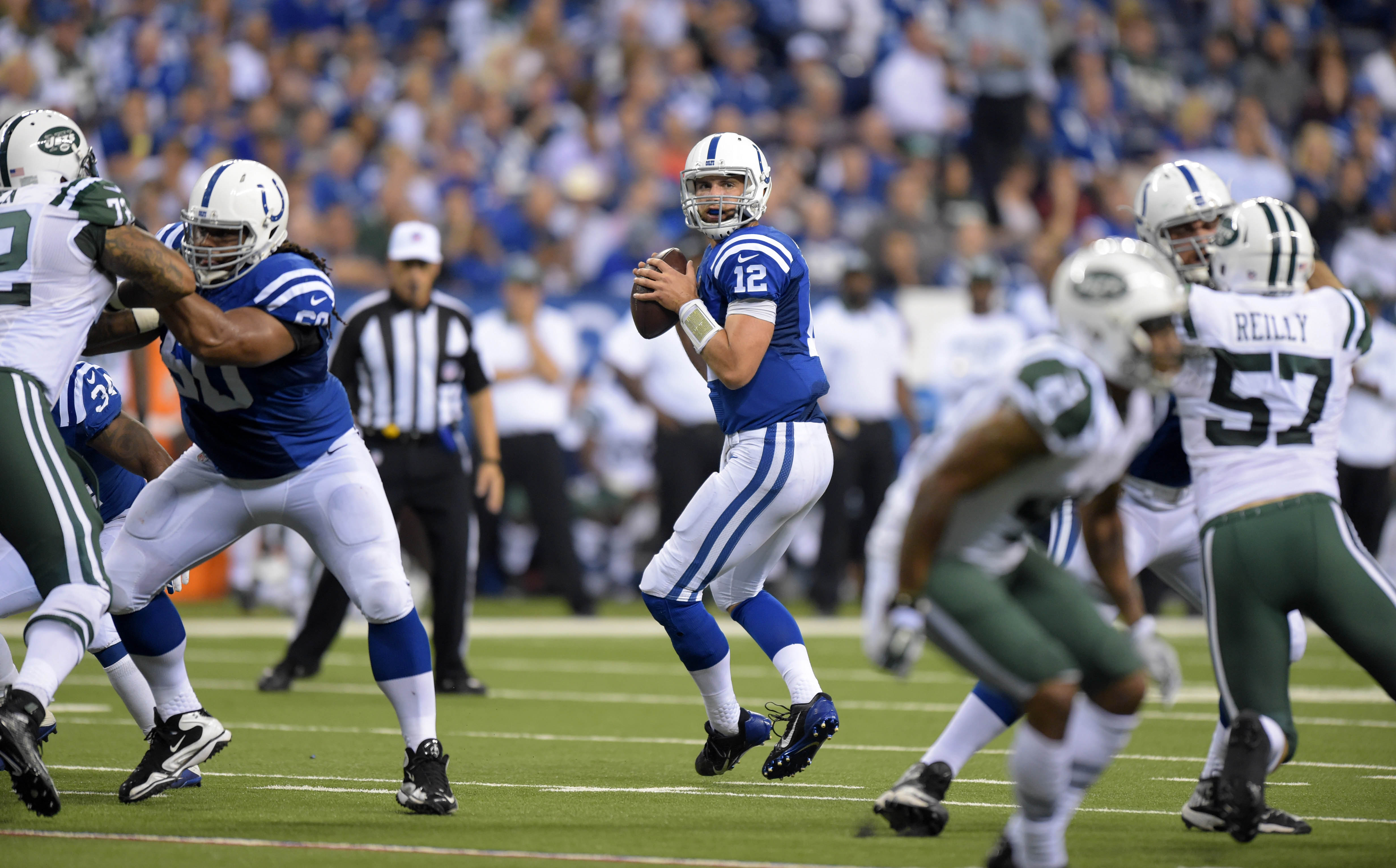 Andrew Luck will play vs. Patriots in Week 6