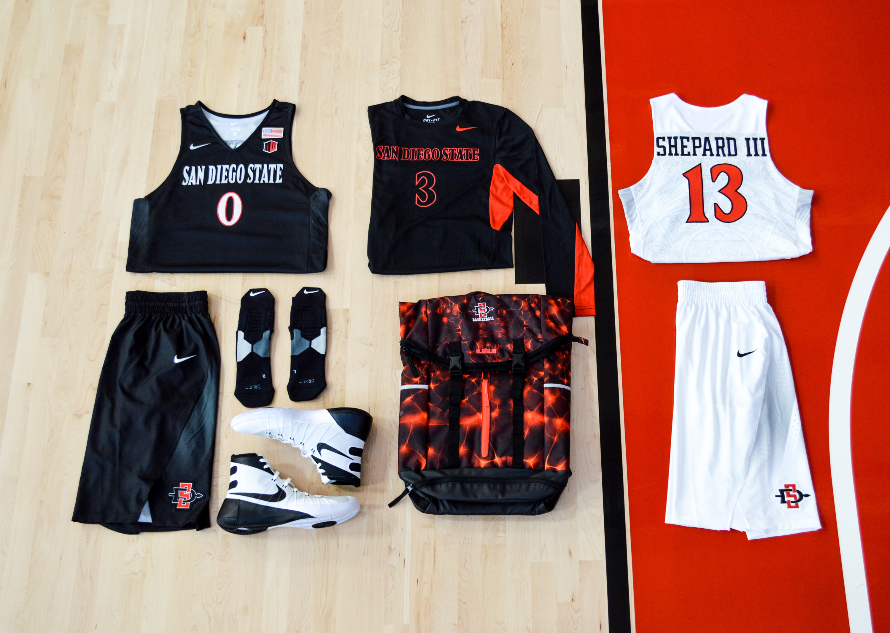 cheaper 7517d 47335 San Diego State basketball gets new uniforms - Mountain West ...