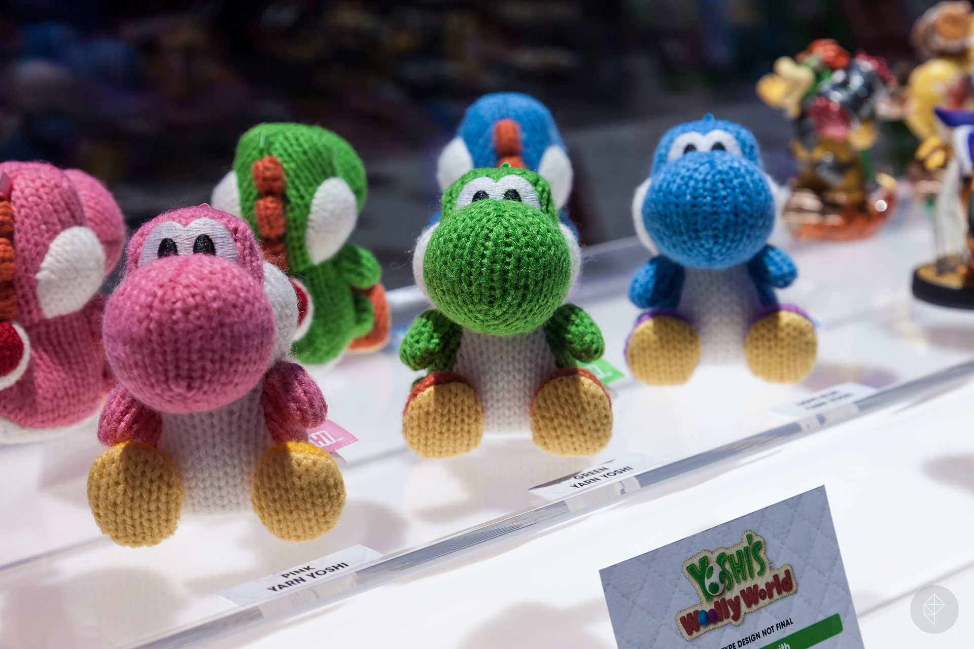 Mega Yarn Yoshi is only at Toys R Us (updated)