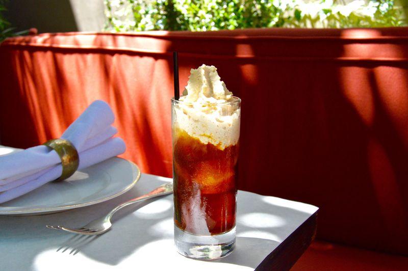 Mr. Menotti's Cold Coffee Grog