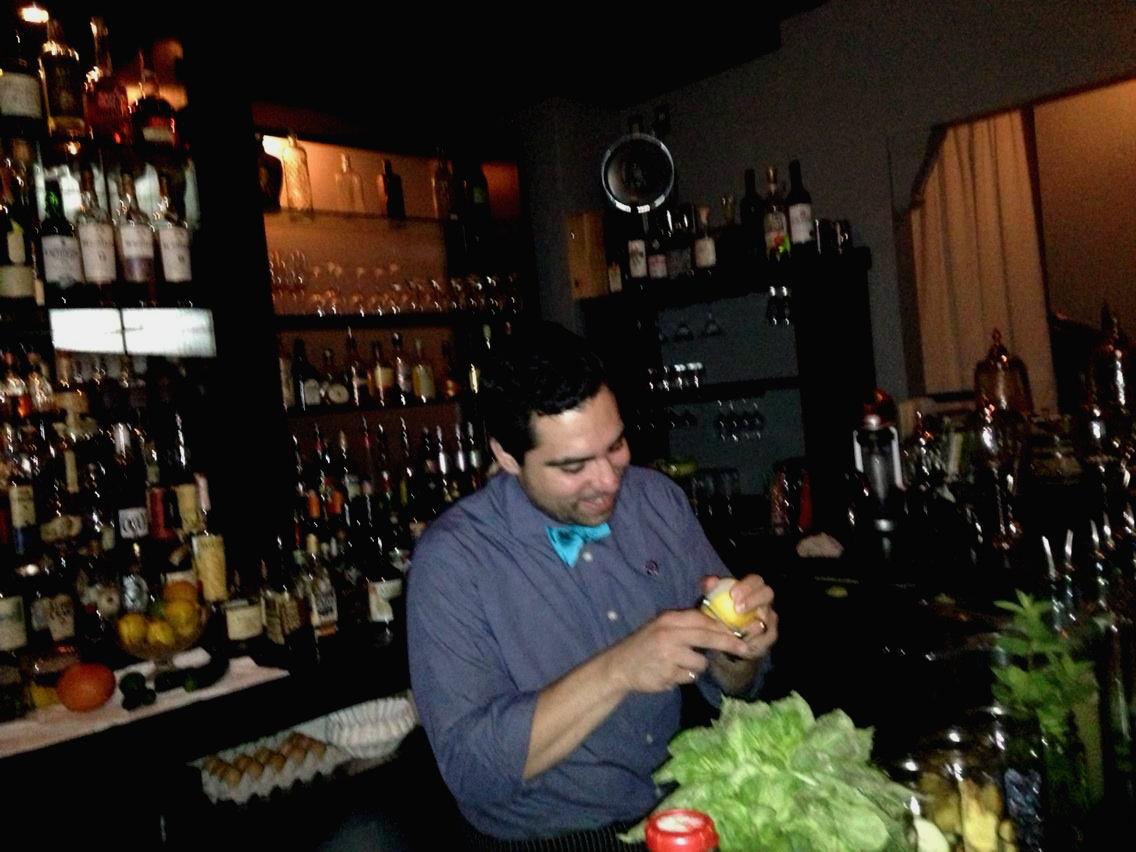 Giancarlo Aversa is principal bartender at The Last Word in Ann Arbor.