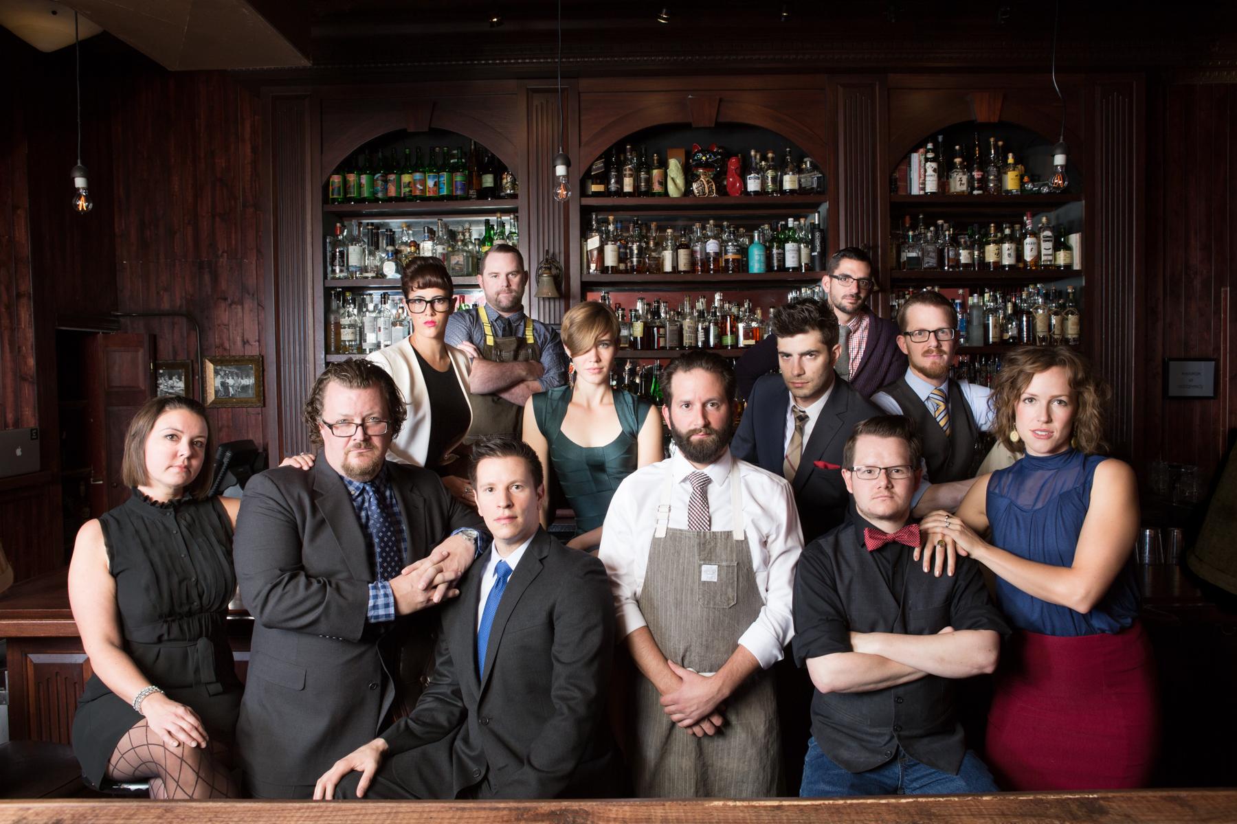Denver's Best Bartenders Class of 2015