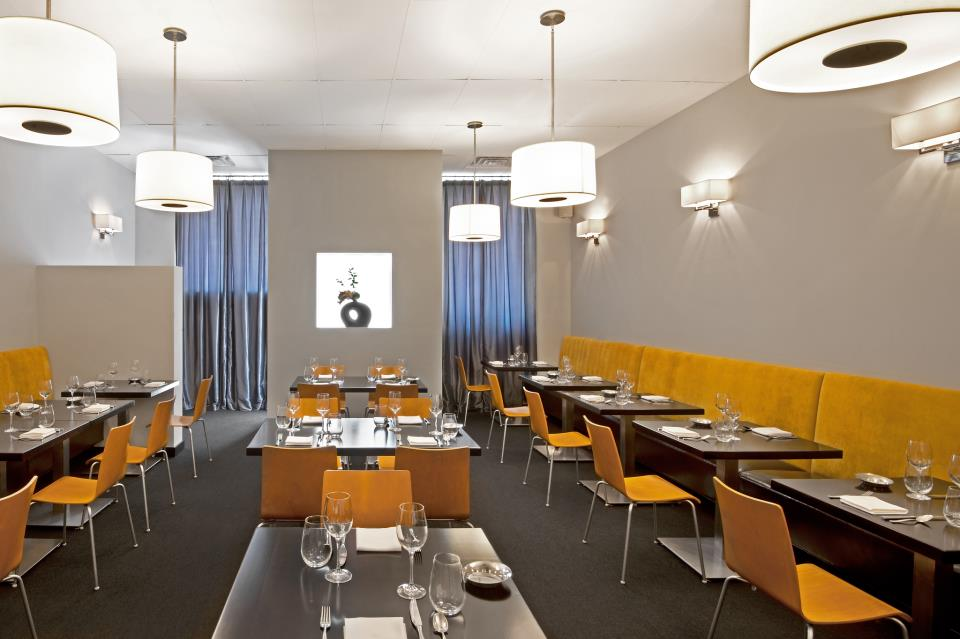 Goosefoot's dining room
